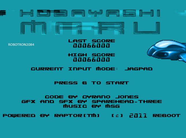 Robotron2084: Kobayashi Maru (Atari Jaguar Emulated) 66,000 points on 2014-07-18 01:58:37