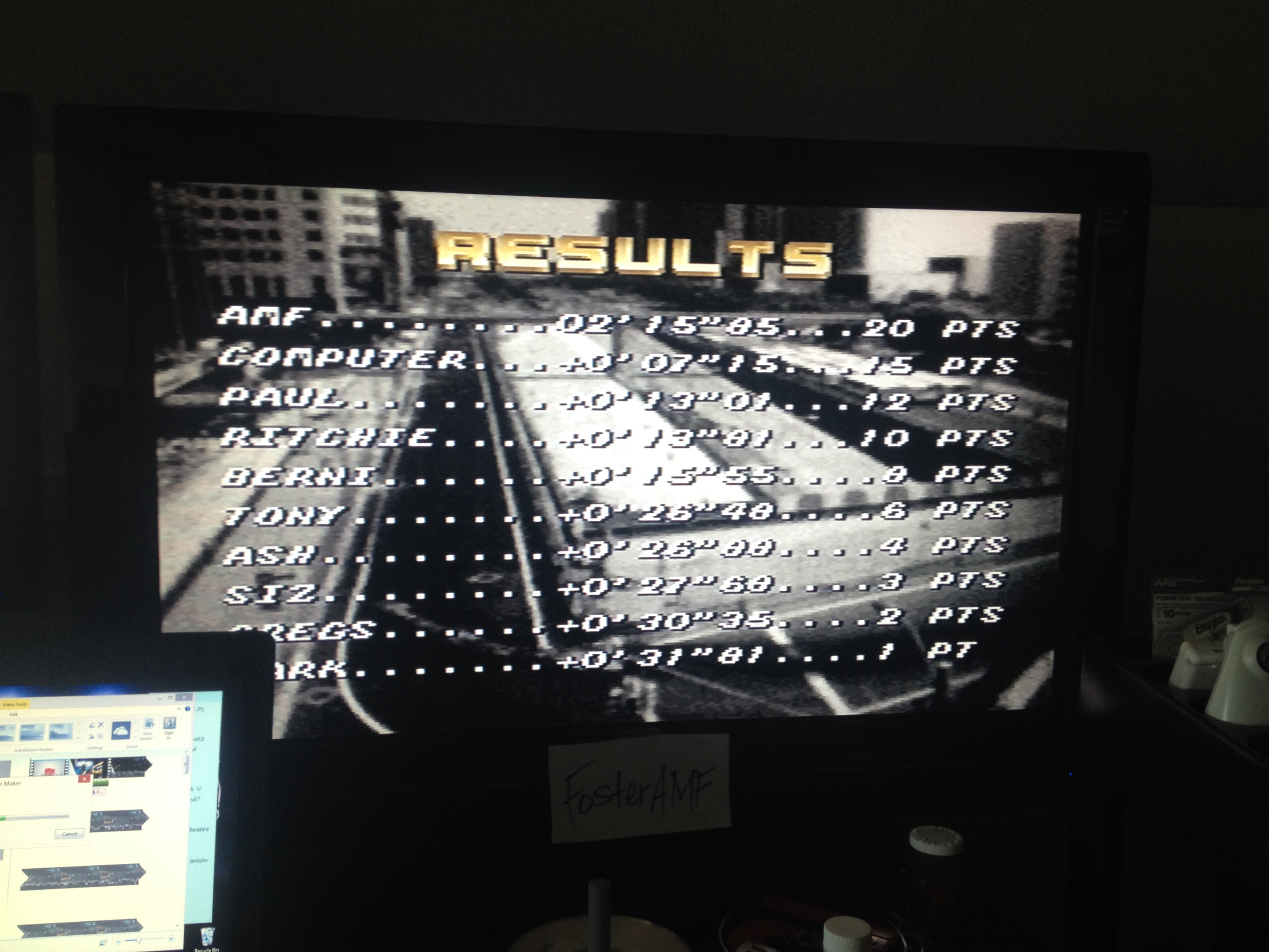 FosterAMF: Top Gear [Track 8: Rain Forest/Amateur Difficulty/No Nitro] (SNES/Super Famicom) 0:02:15.85 points on 2014-07-18 16:07:14