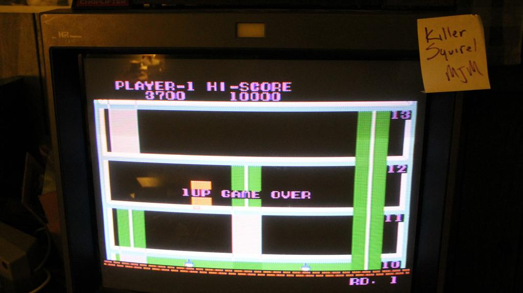 Elevator Action 3,700 points