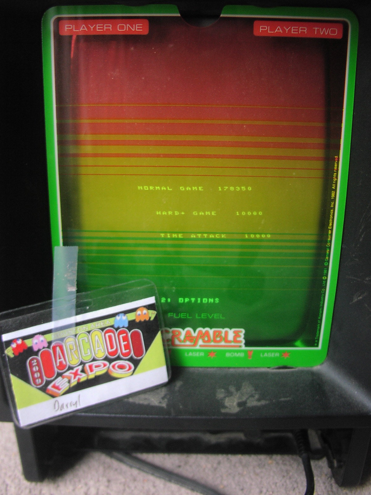 DarrylB: Thrust: Normal (Vectrex) 178,350 points on 2014-07-19 09:17:12