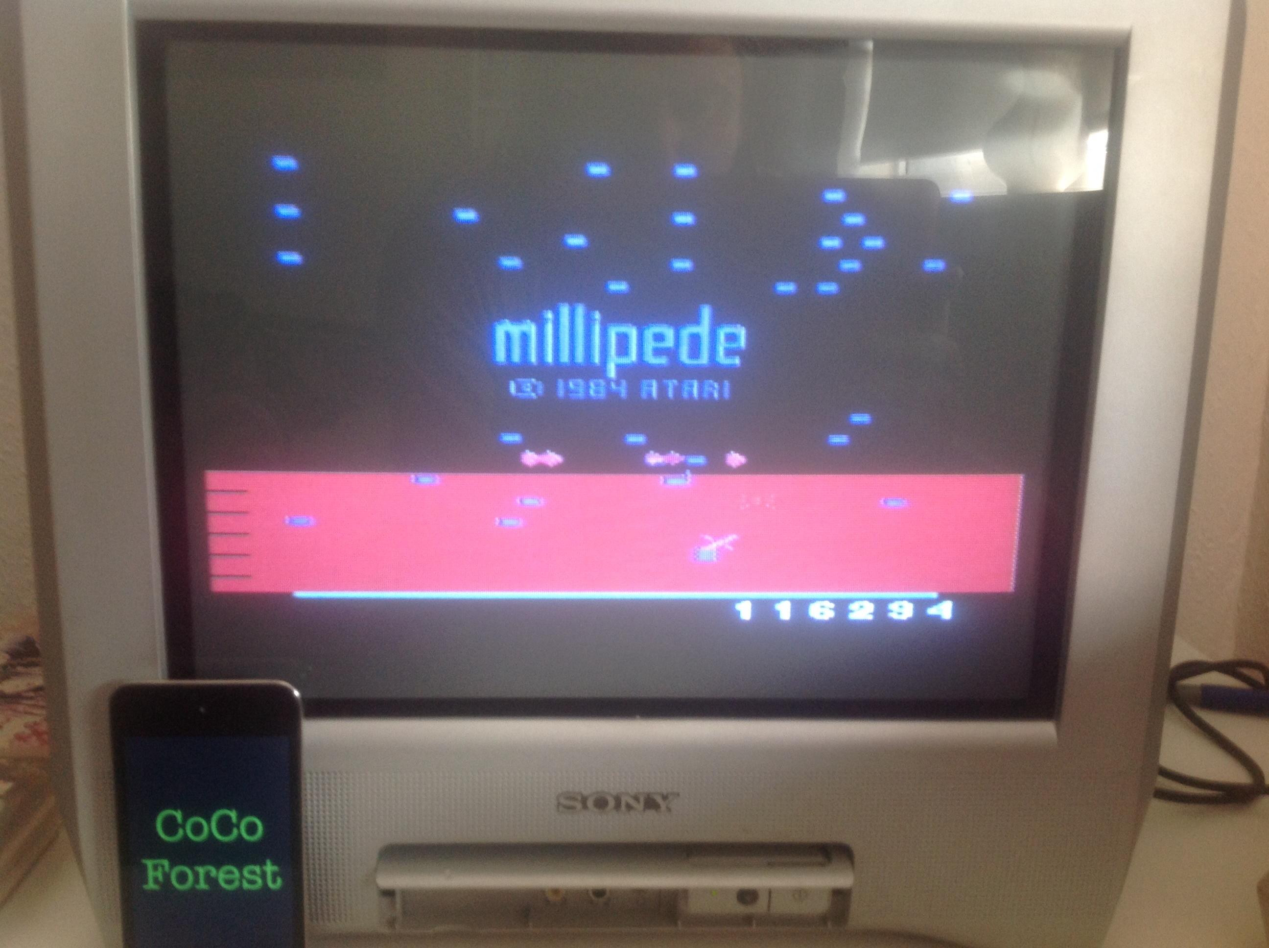Millipede 116,294 points