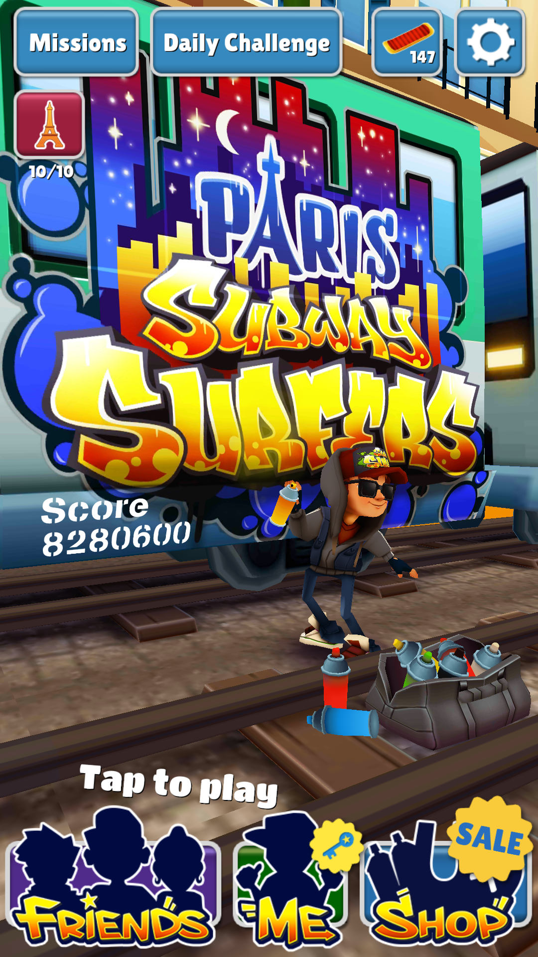 DarkEonMaster: Subway Surfers (Android) 8,280,600 points on 2014-07-19 13:48:14