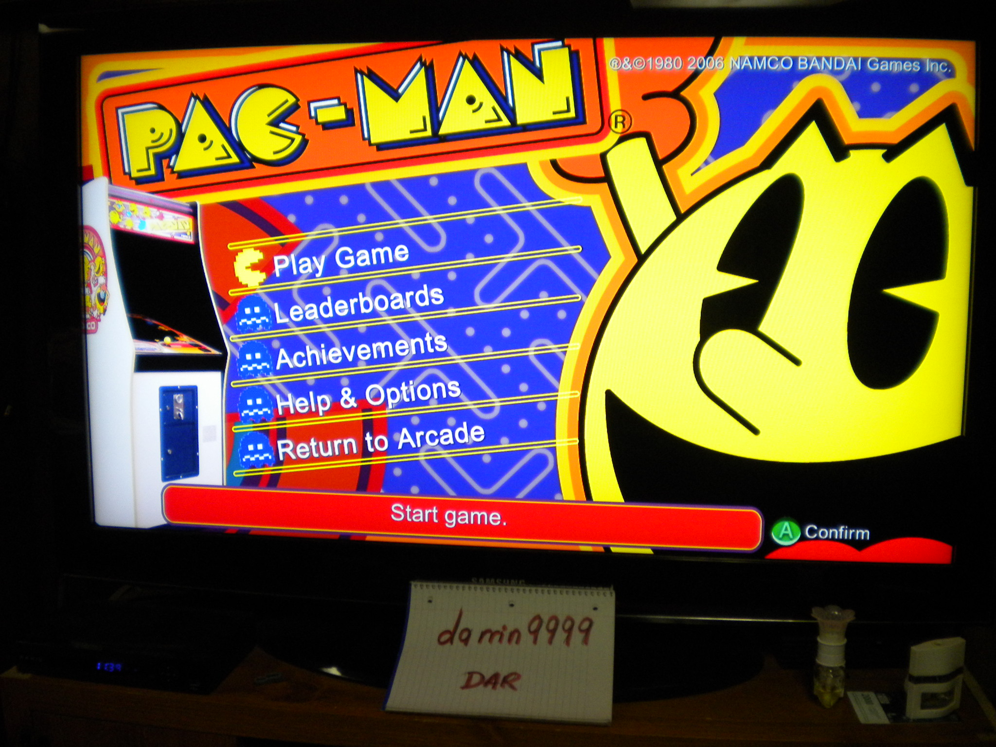 Pac-Man Museum: Pac-Man 18,740 points