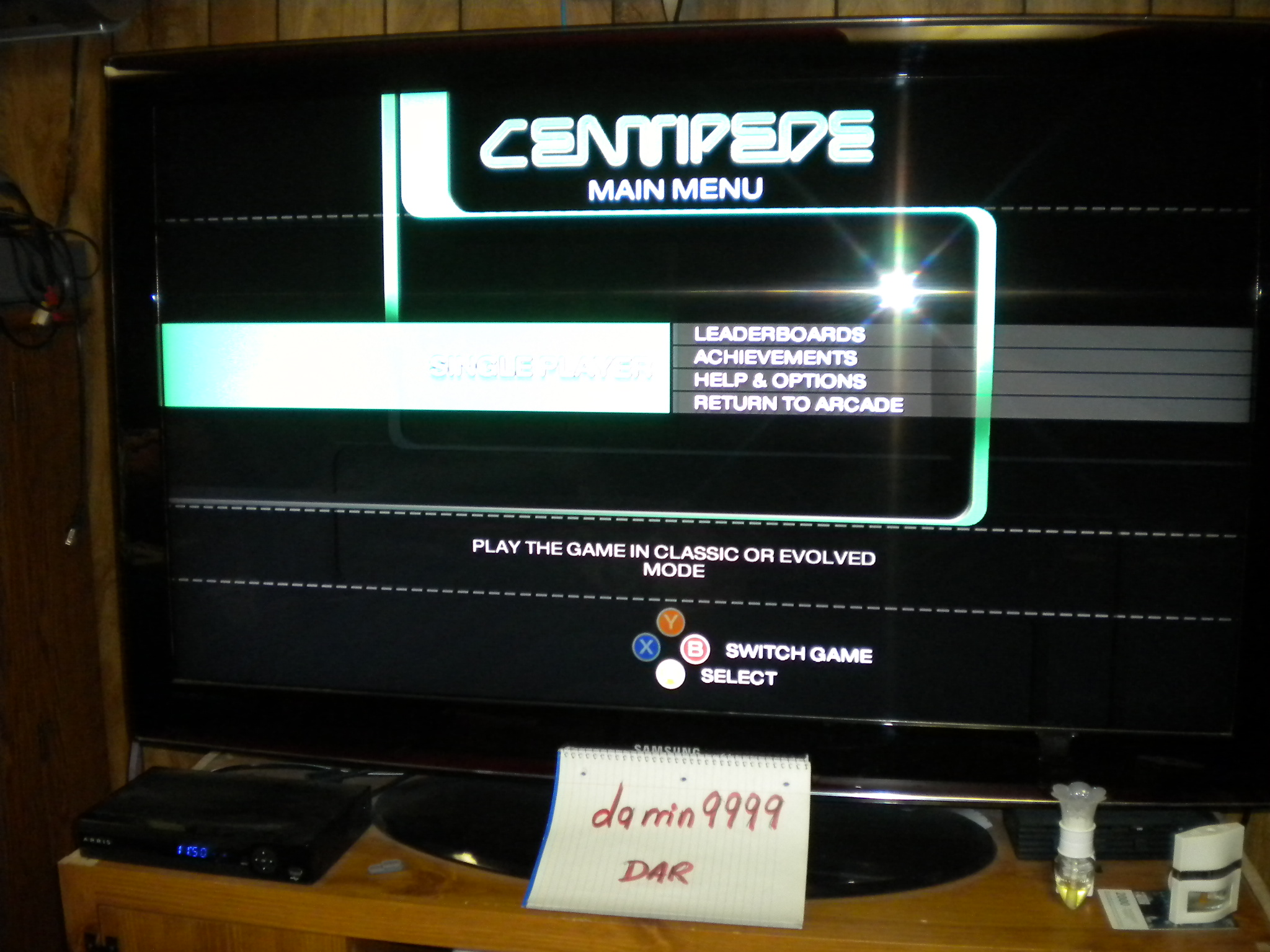 Centipede: Classic [Default Difficulty] 17,706 points