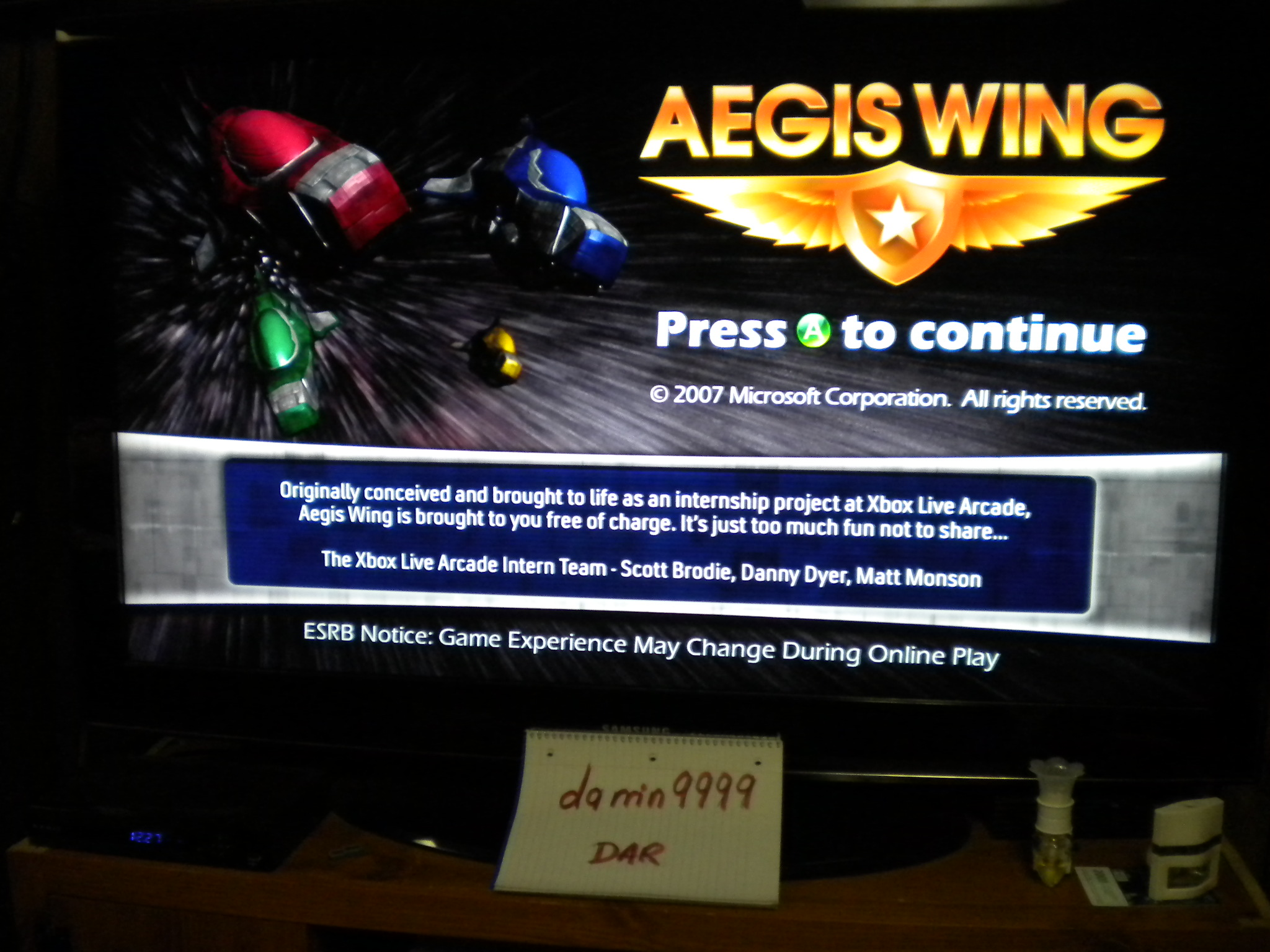 Aegis Wing [Normal] 40,200 points