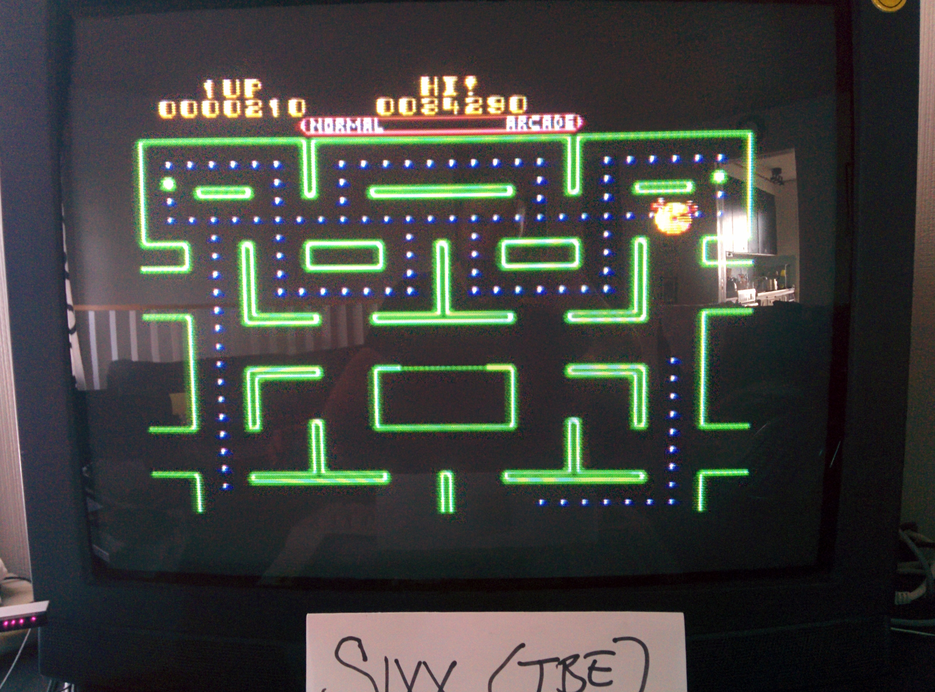 Ms. Pac-Man 34,290 points