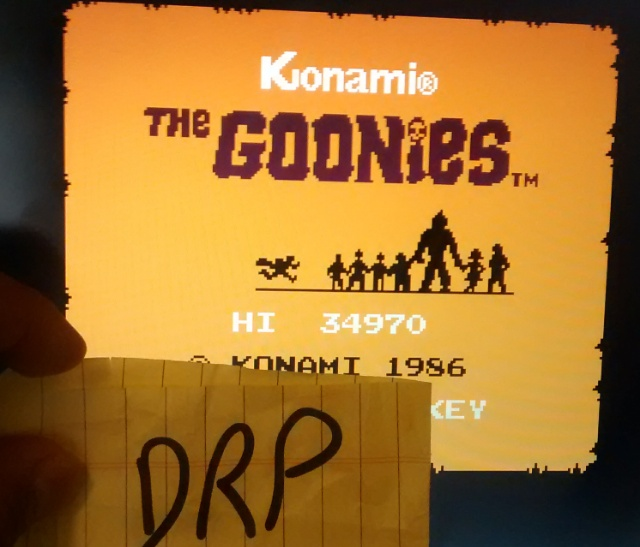 Scootablue: The Goonies (NES/Famicom Emulated) 34,970 points on 2014-07-20 11:50:59