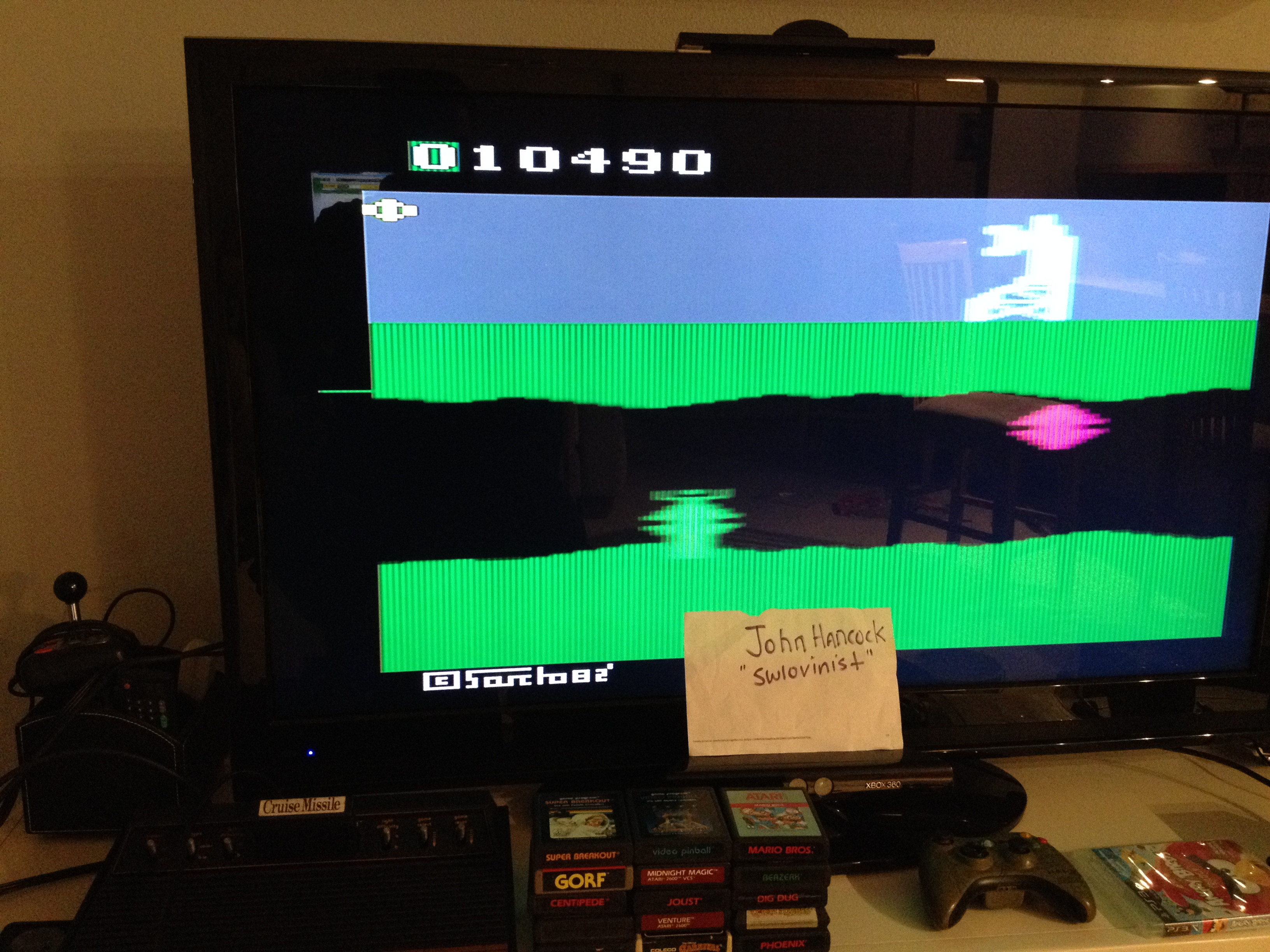 swlovinist: Cruise Missile / Exocet (Atari 2600 Expert/A) 10,490 points on 2013-10-01 00:58:09