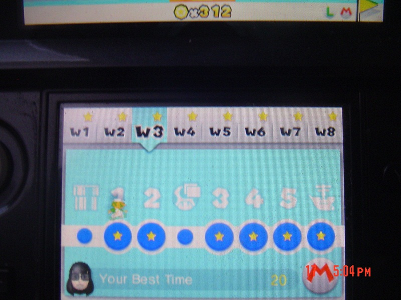RikuVanhanen: Super Mario 3D Land: World 3-1 [Best Time] (Nintendo 3DS) 20 points on 2014-07-20 14:06:04