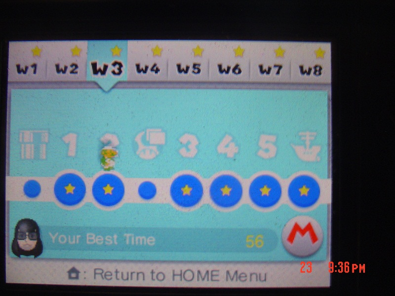 RikuVanhanen: Super Mario 3D Land: World 3-2 [Best Time] (Nintendo 3DS) 56 points on 2014-07-20 14:06:42