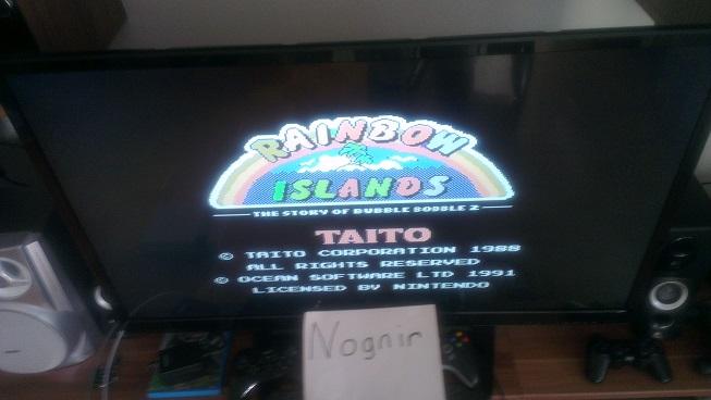 Rainbow Islands 236,870 points