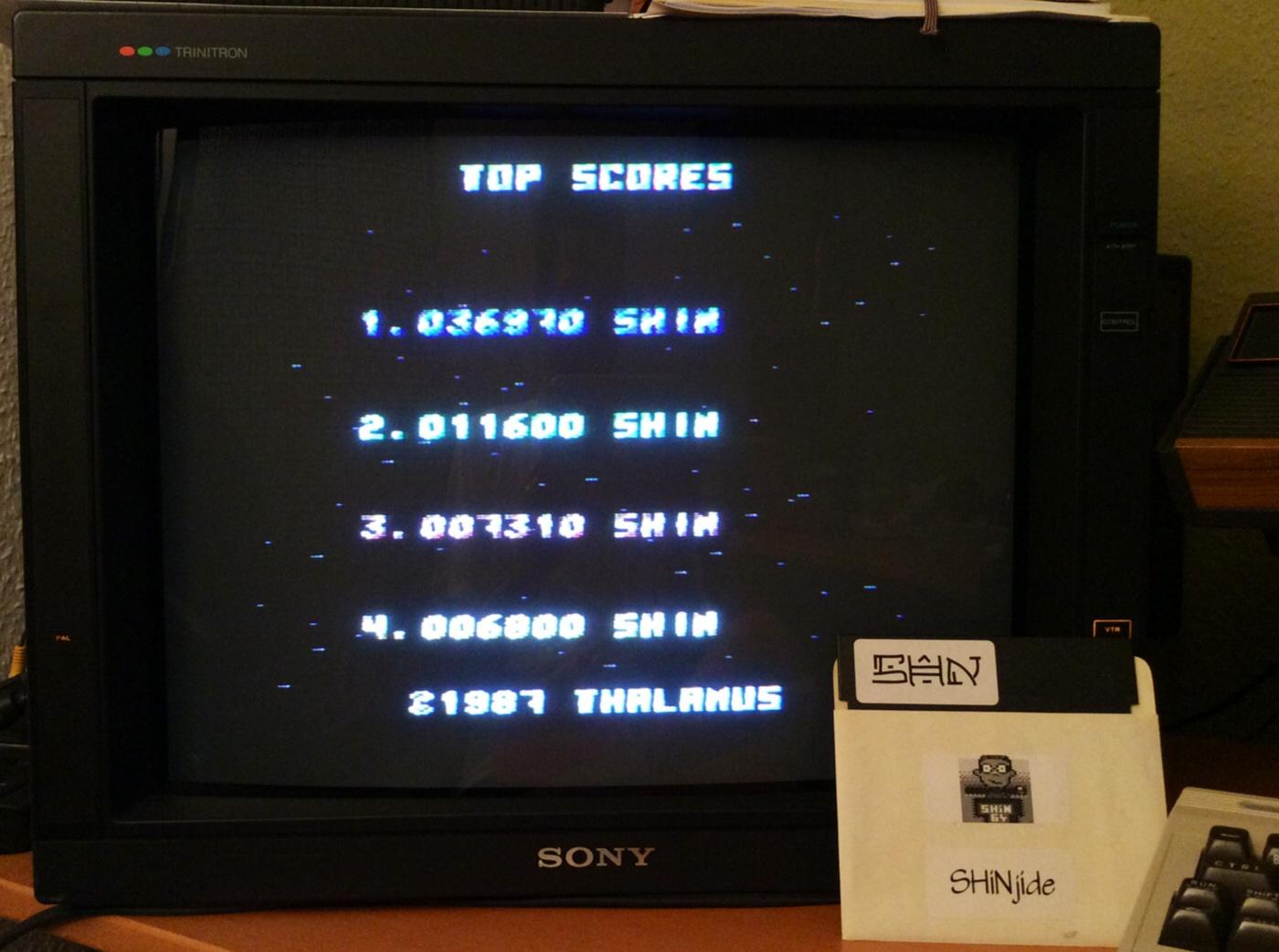 SHiNjide: Delta (Commodore 64) 36,970 points on 2014-07-21 14:46:58
