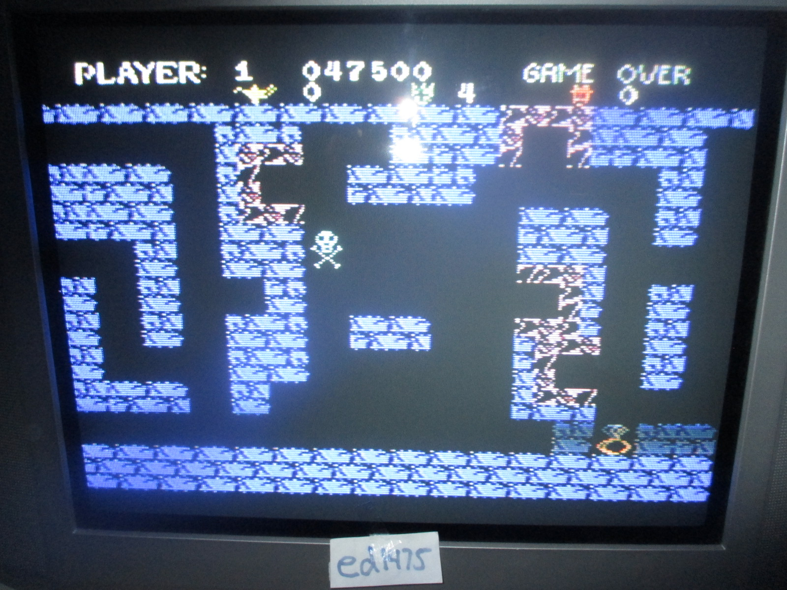 ed1475: Tutankham (Colecovision) 47,500 points on 2014-07-21 21:52:30