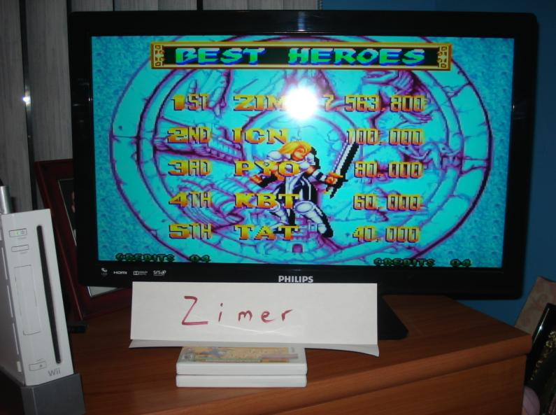 Zimer: World Heroes Perfect [Any Settings/Any Tactics] (Wii Virtual Console: Neo Geo) 7,563,800 points on 2014-07-22 12:46:53
