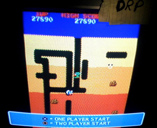Scootablue: Namco Museum: Dig Dug (Playstation 2) 27,890 points on 2014-07-22 14:42:07