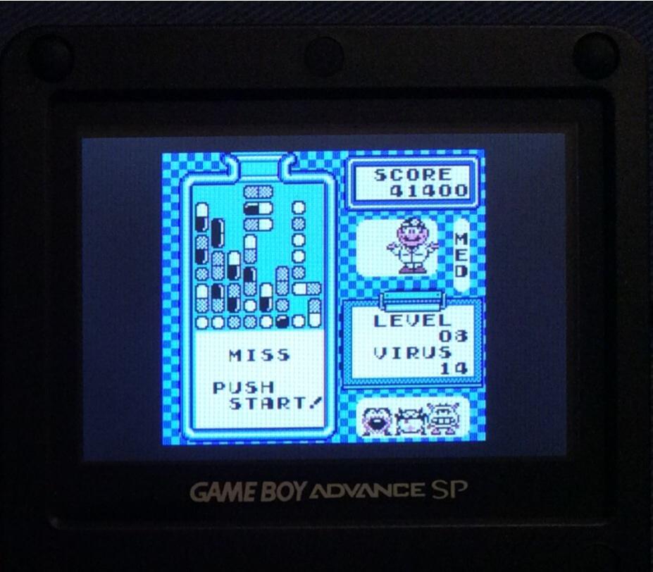 SHiNjide: Dr. Mario [Medium] (Game Boy) 41,400 points on 2014-07-22 16:15:38