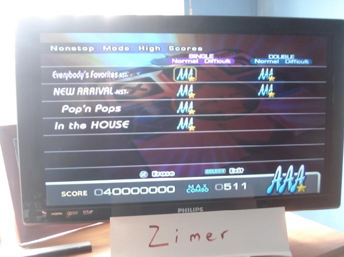 Zimer: DDR Extreme: Everybody