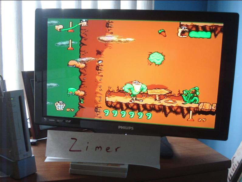 Zimer: Boogerman [Any Settings/Any Tactics] (Wii Virtual Console: Genesis) 999,999 points on 2014-07-23 08:44:45