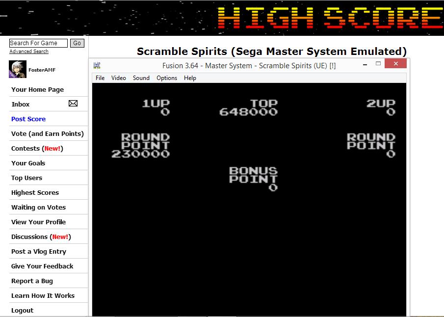 Scramble Spirits 648,000 points