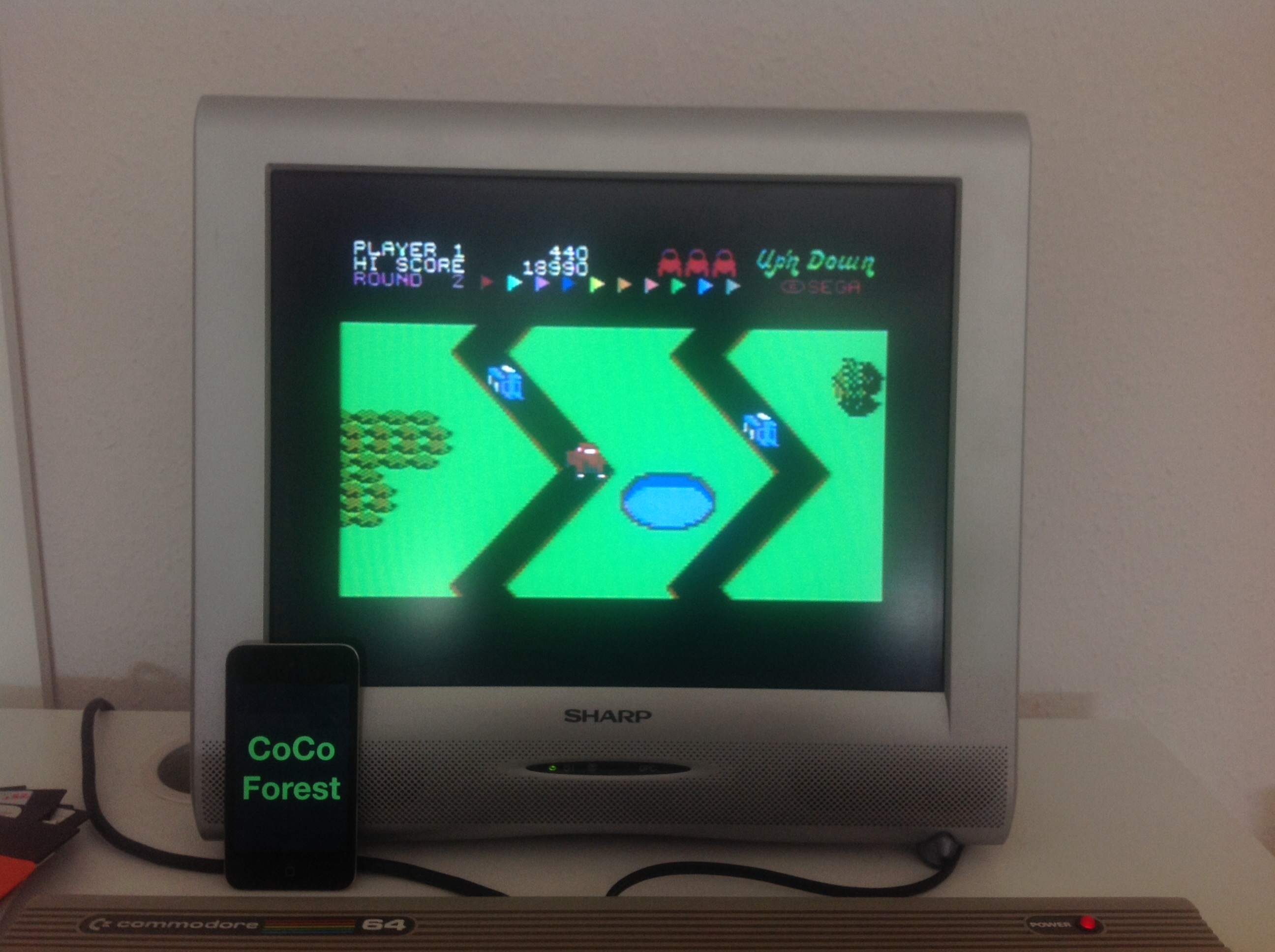 CoCoForest: Up N Down [Medium] (Commodore 64) 18,990 points on 2014-07-24 12:02:31