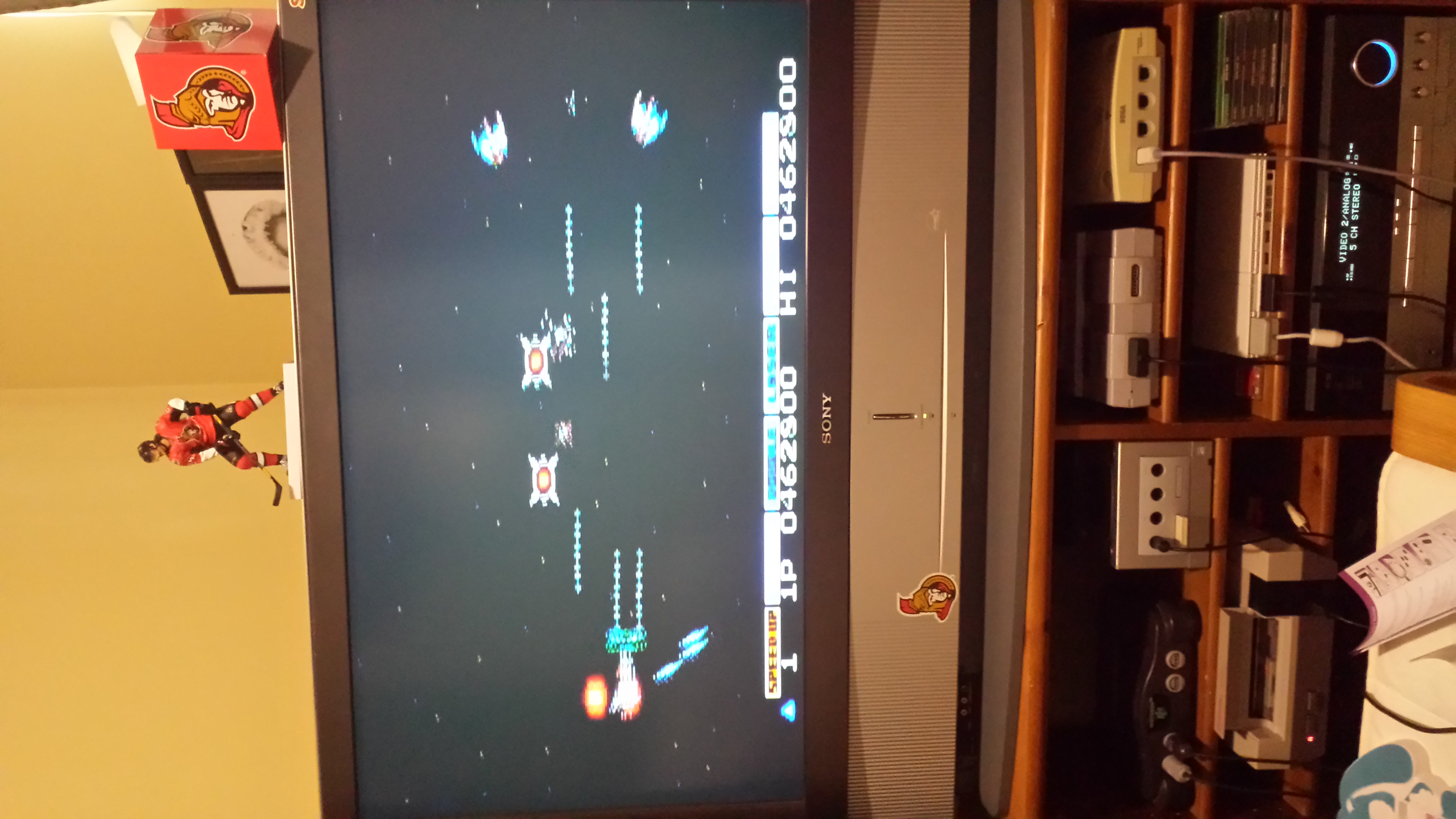 BULLYDOGG: Gradius (NES/Famicom) 462,800 points on 2014-07-26 11:42:01