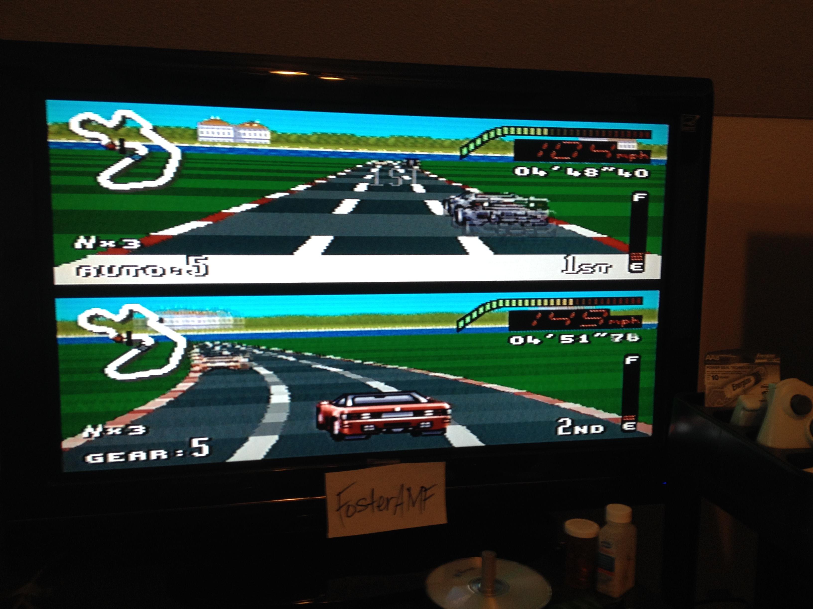 FosterAMF: Top Gear [Track 13: Munich/Amateur Difficulty/No Nitro] (SNES/Super Famicom) 0:04:48.4 points on 2014-07-27 20:56:35