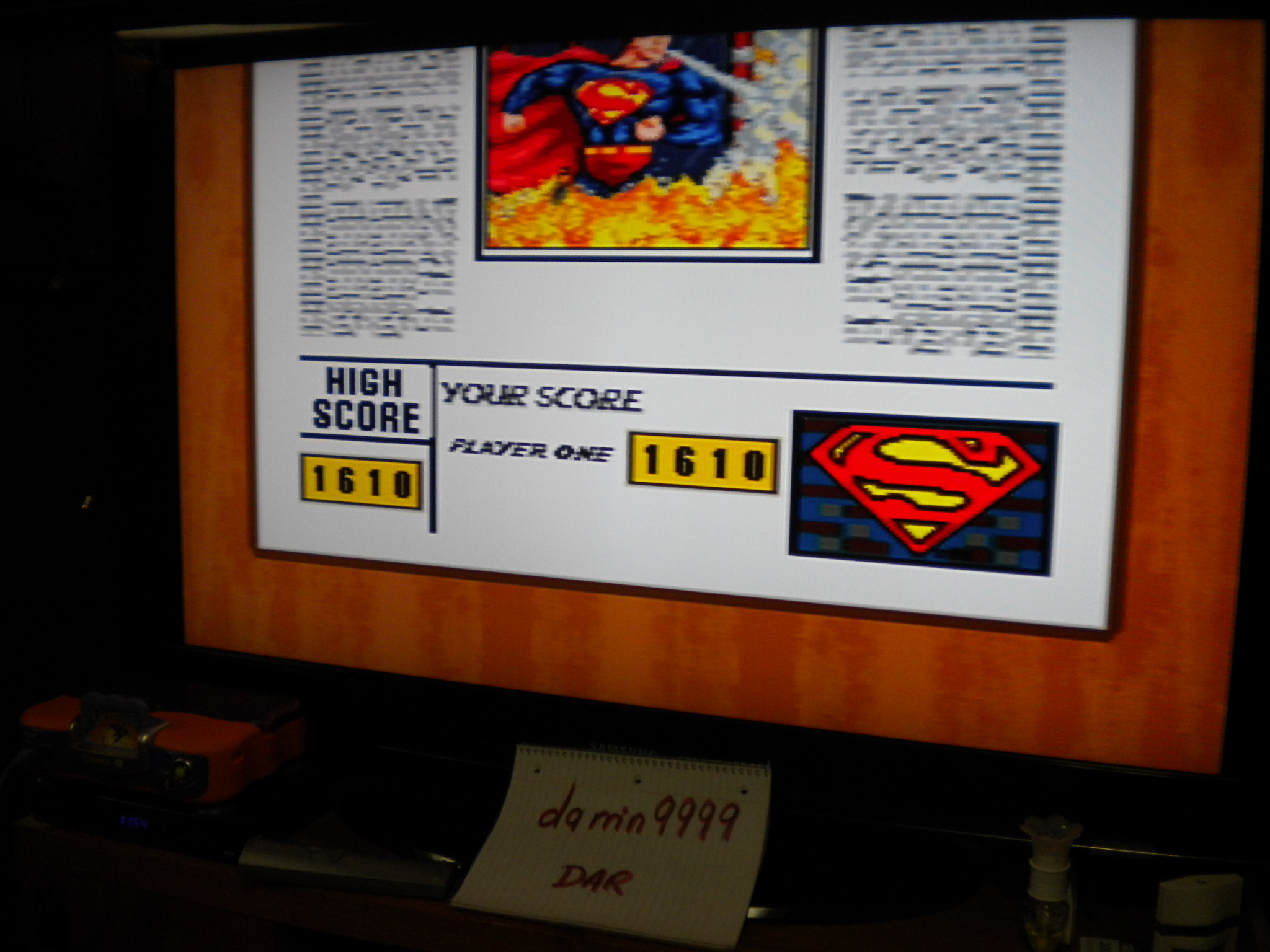 Superman: The Greatest Hero [Easy] 1,610 points