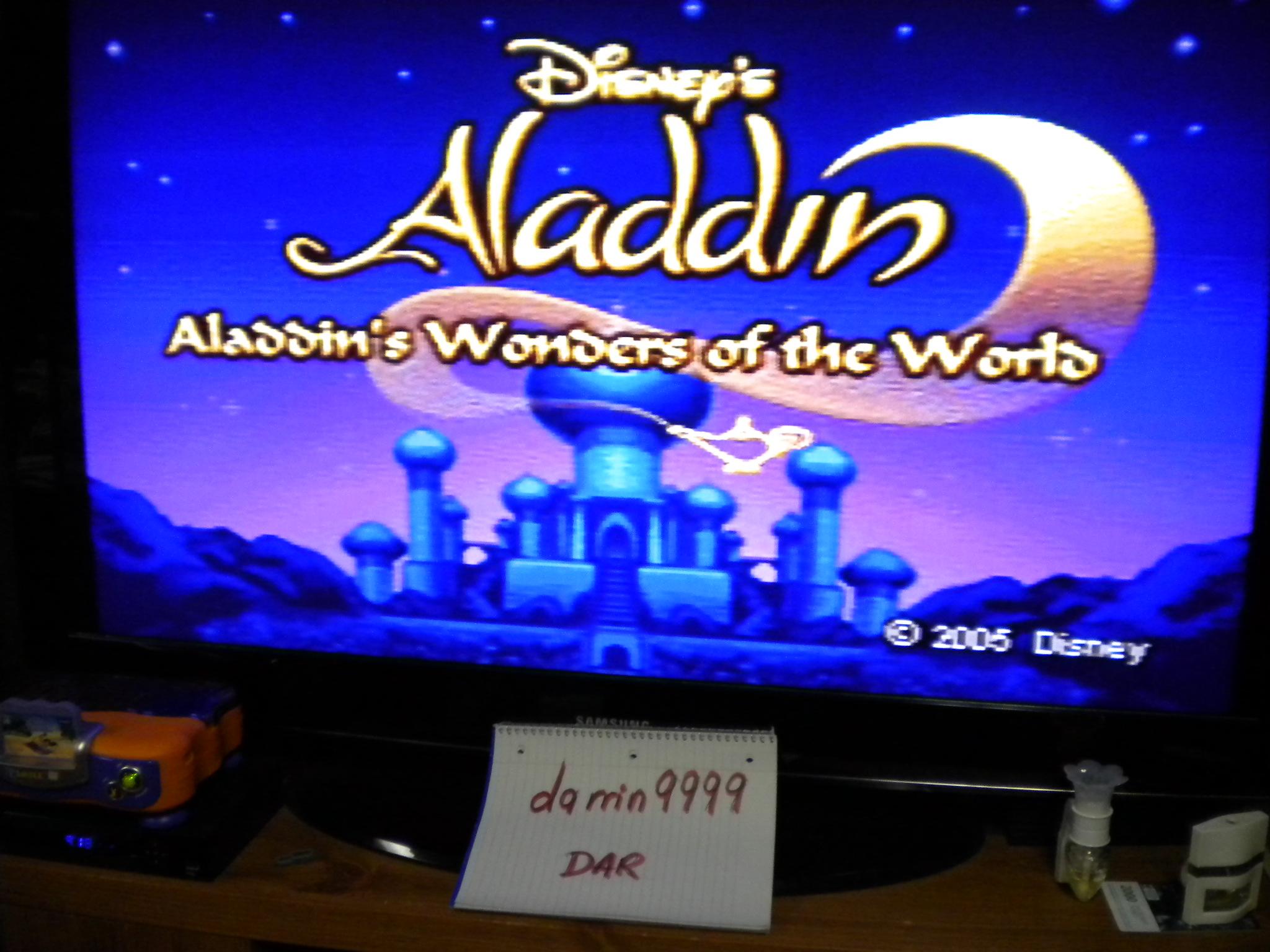 Aladdin : Aladdin`s Wonders Of The World [Easy] 1,017 points