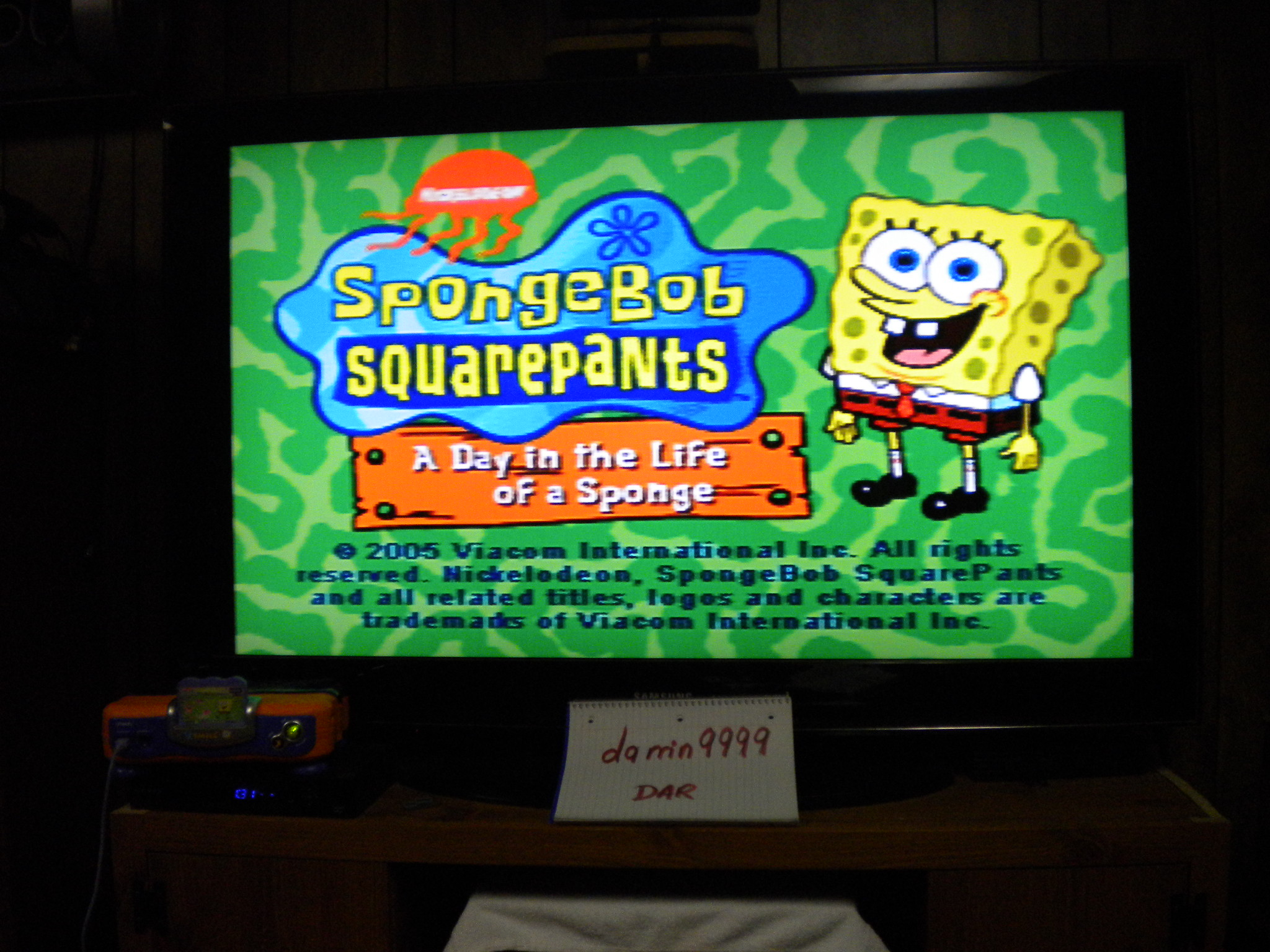 SpongeBob Square Pants: A Day In The Life Of A Sponge [Easy] 932 points