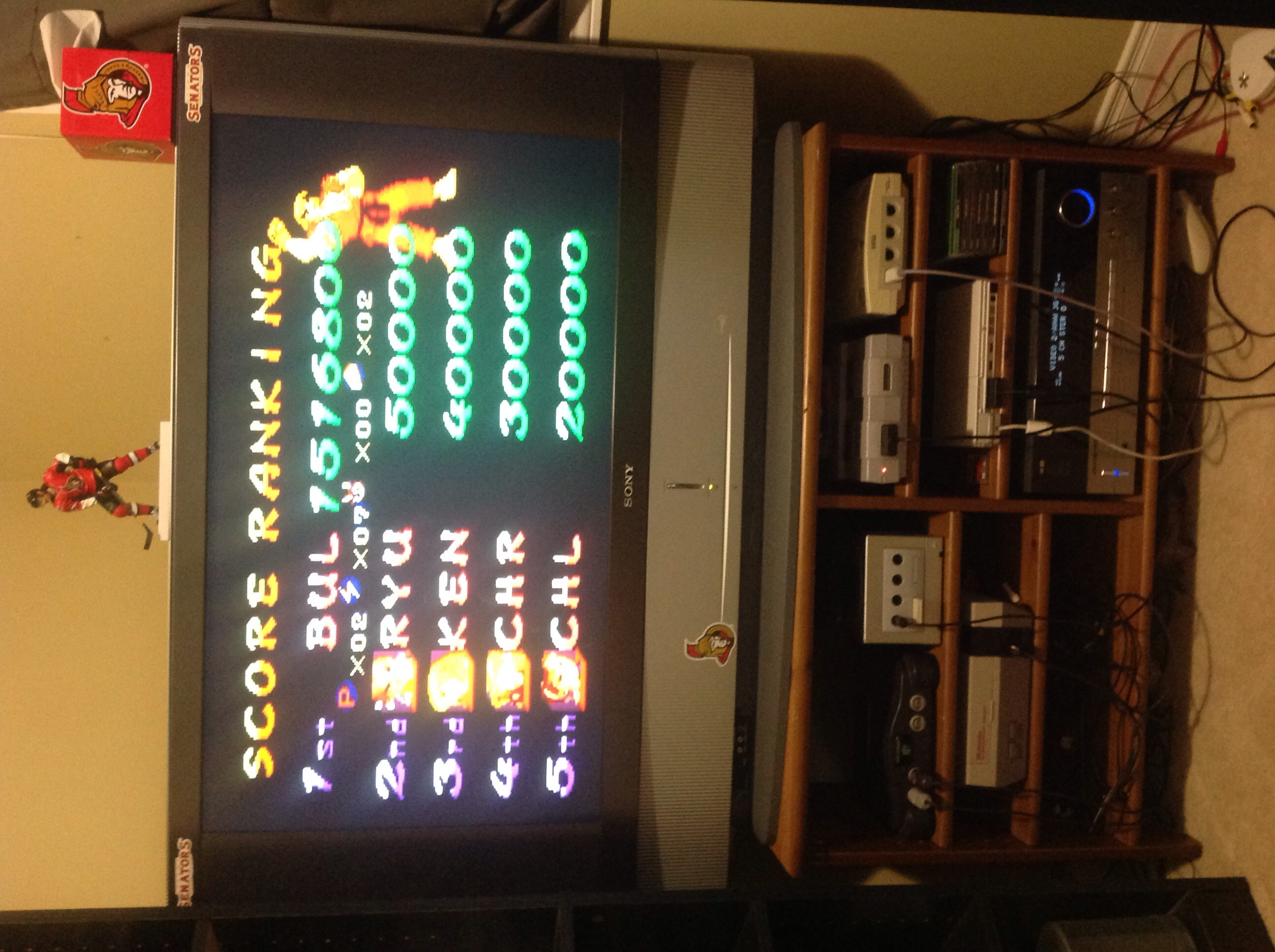 Street Fighter Alpha 2 1,516,800 points