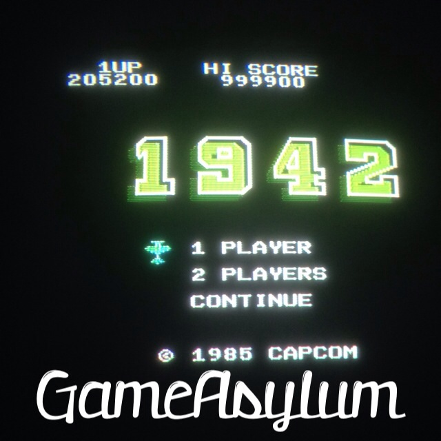 GameAsylum: 1942 (NES/Famicom) 999,900 points on 2014-07-29 16:30:04