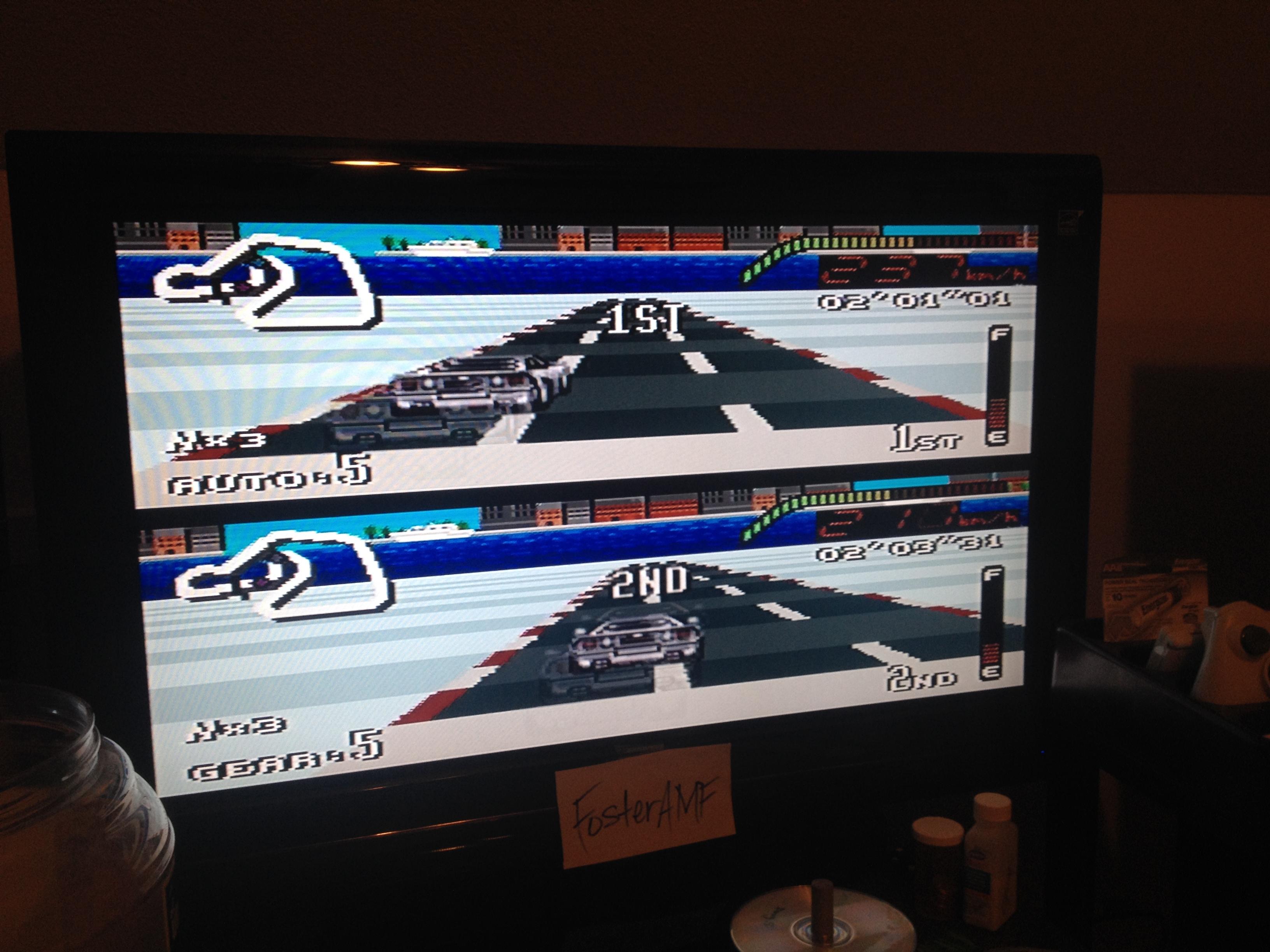 FosterAMF: Top Gear [Track 18: Copenhagen/Amateur Difficulty/No Nitro] (SNES/Super Famicom) 0:02:01.01 points on 2014-07-30 00:28:40