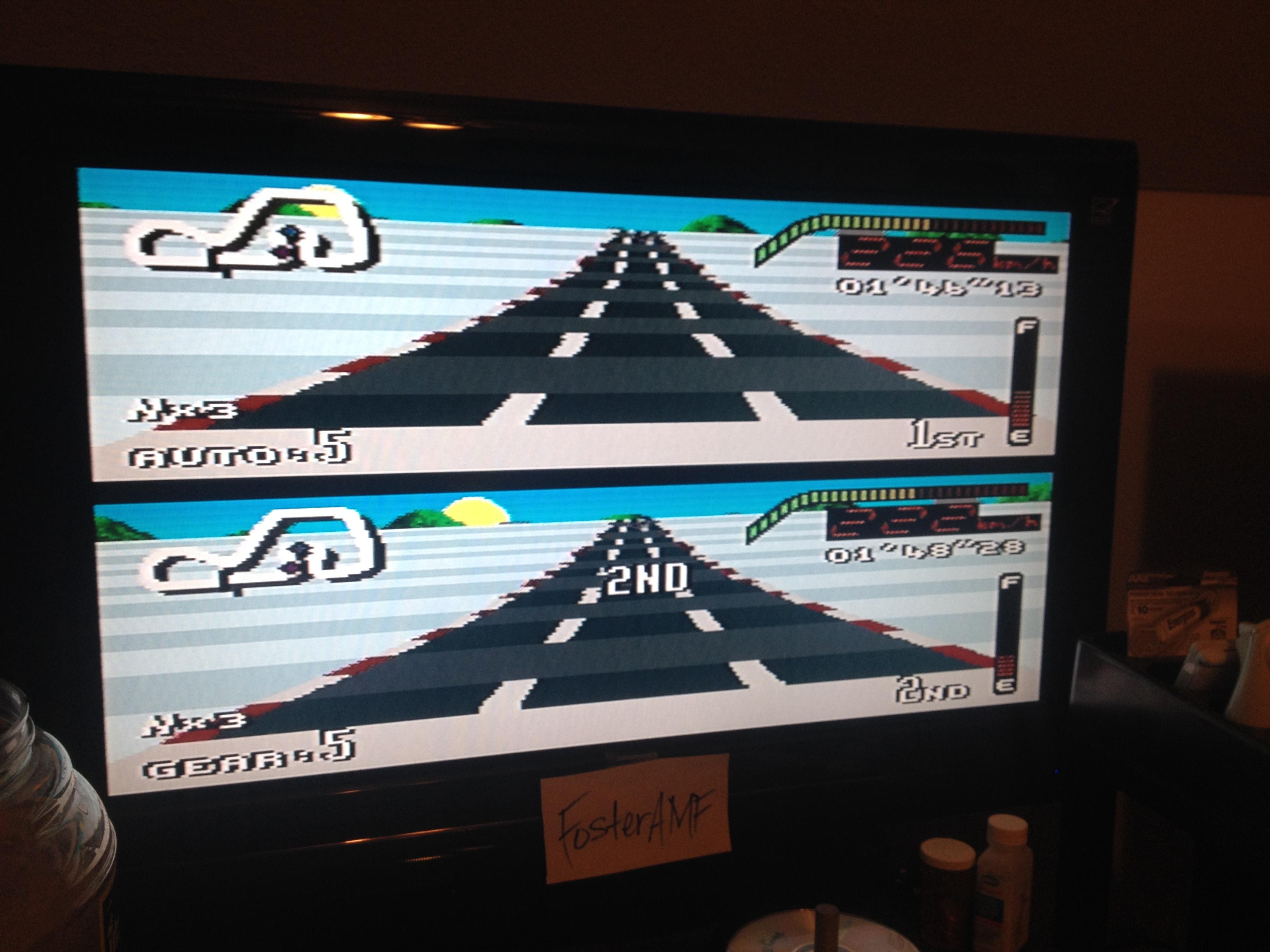 FosterAMF: Top Gear [Track 19: Helsinki/Amateur Difficulty/No Nitro] (SNES/Super Famicom) 0:01:46.13 points on 2014-07-30 00:32:26
