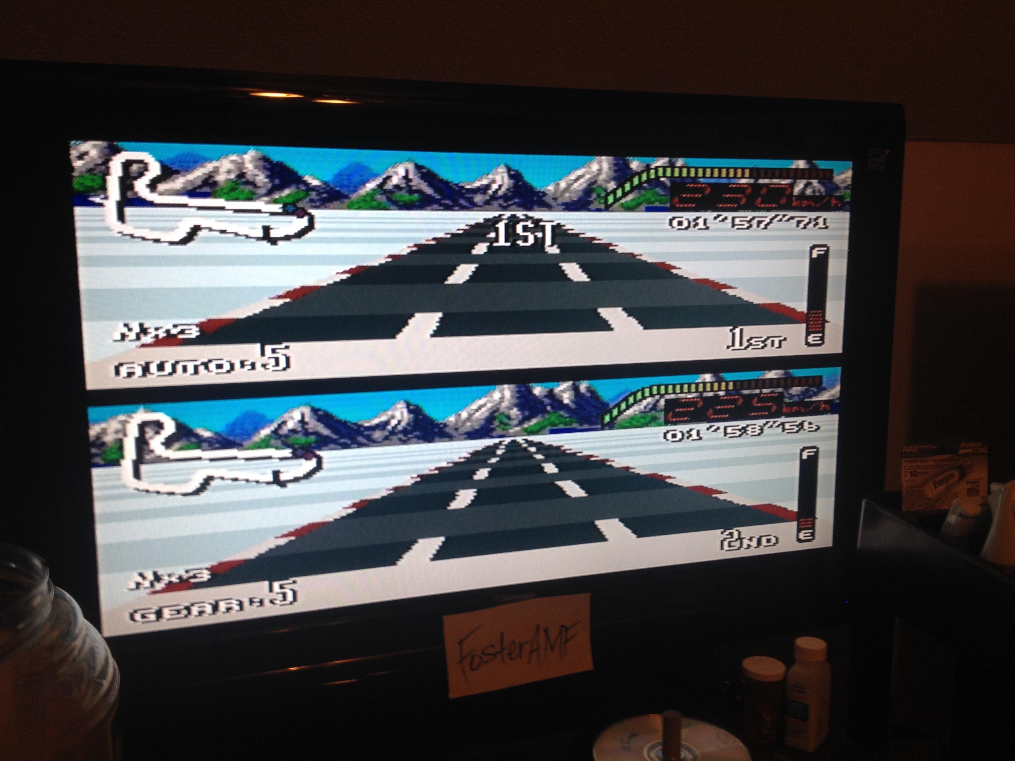 FosterAMF: Top Gear [Track 20: Oslo/Amateur Difficulty/No Nitro] (SNES/Super Famicom) 0:01:57.71 points on 2014-07-30 00:34:20