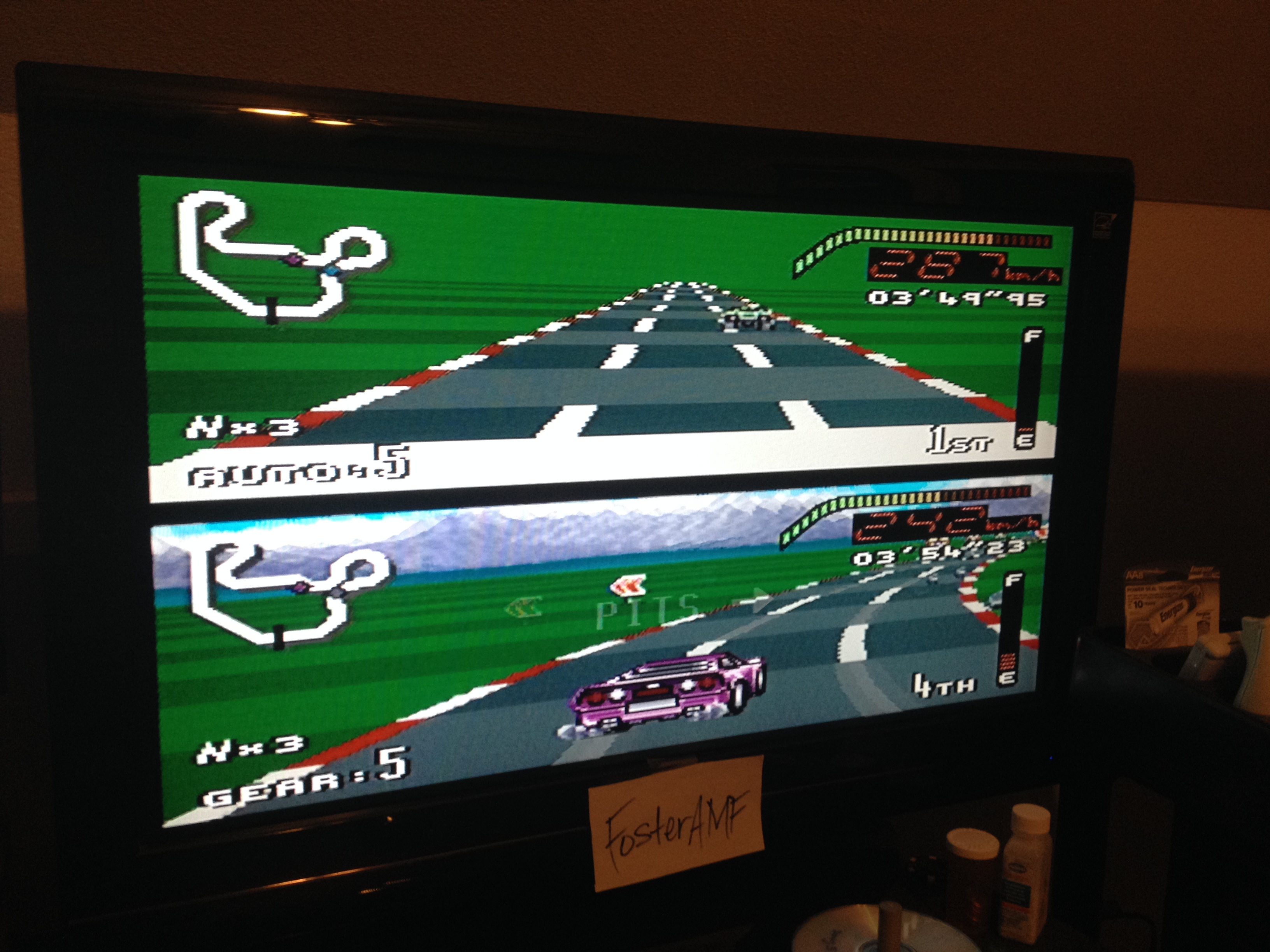 FosterAMF: Top Gear [Track 23: Bordeaux/Amateur Difficulty/No Nitro] (SNES/Super Famicom) 0:03:49.95 points on 2014-07-31 03:01:03