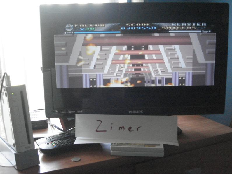 Zimer: Star Wars: Return Of Jedi [Any Settings/Any Tactics] (Wii Virtual Console: SNES) 309,550 points on 2014-08-01 09:12:49