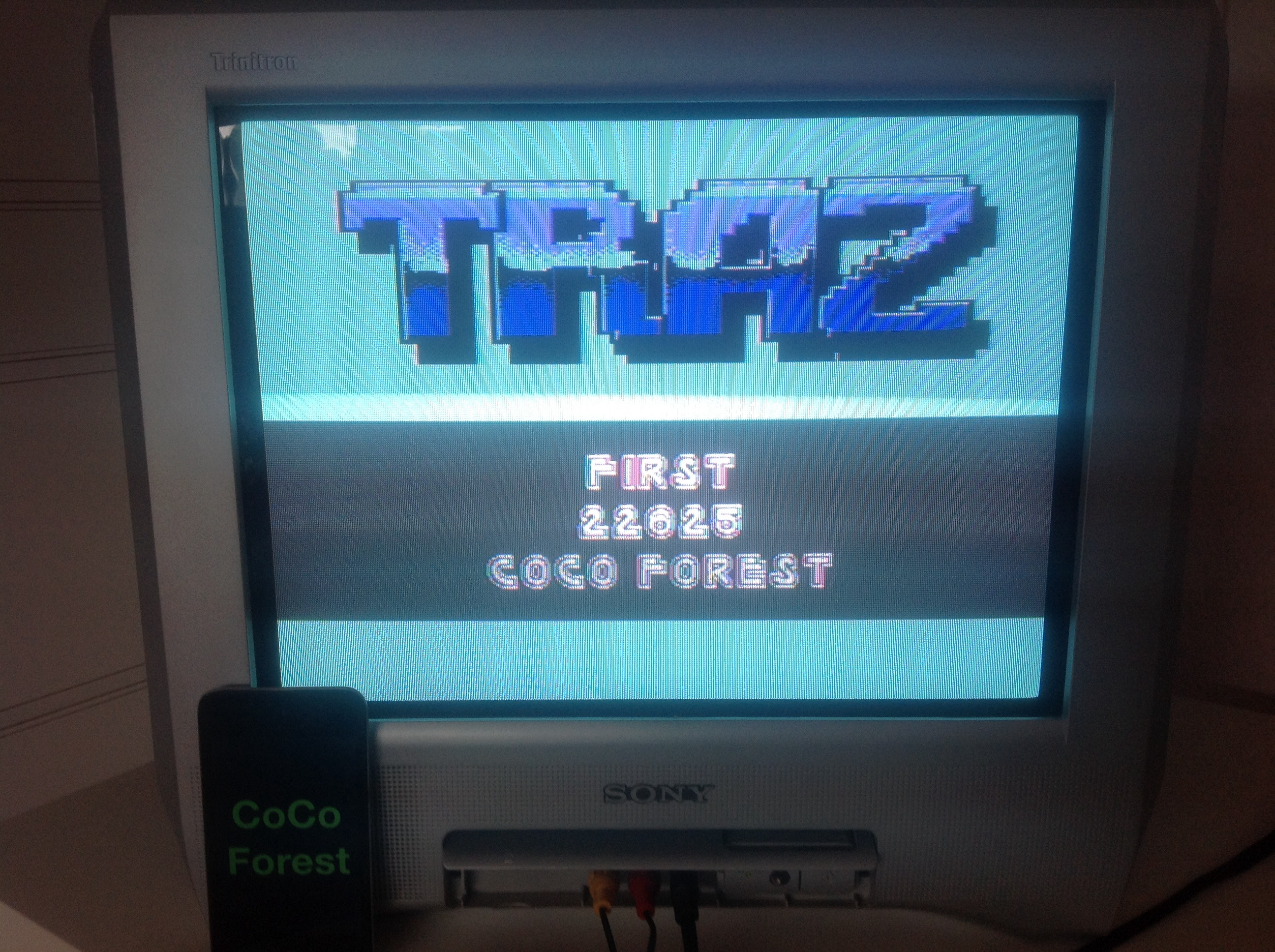 CoCoForest: TRAZ (Commodore 64) 22,625 points on 2014-08-02 03:10:20