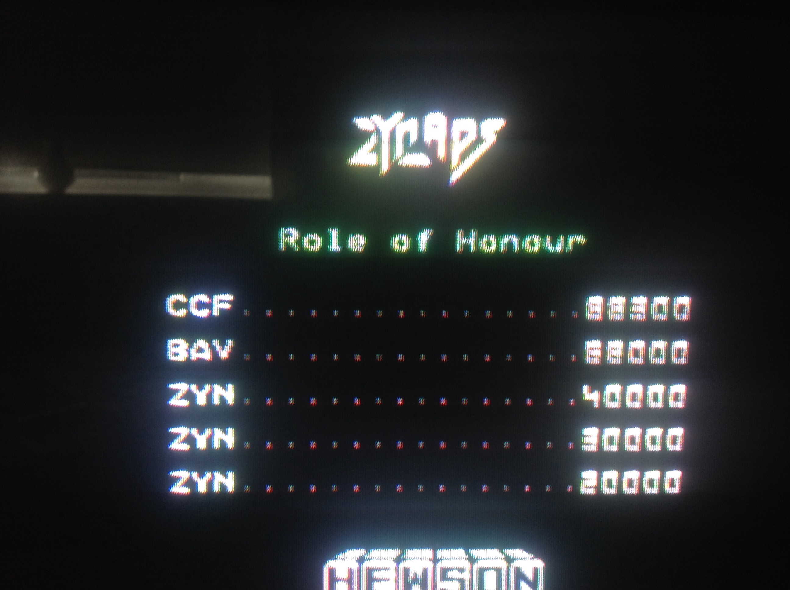 CoCoForest: Zynaps (Commodore 64) 88,300 points on 2014-08-02 12:29:21