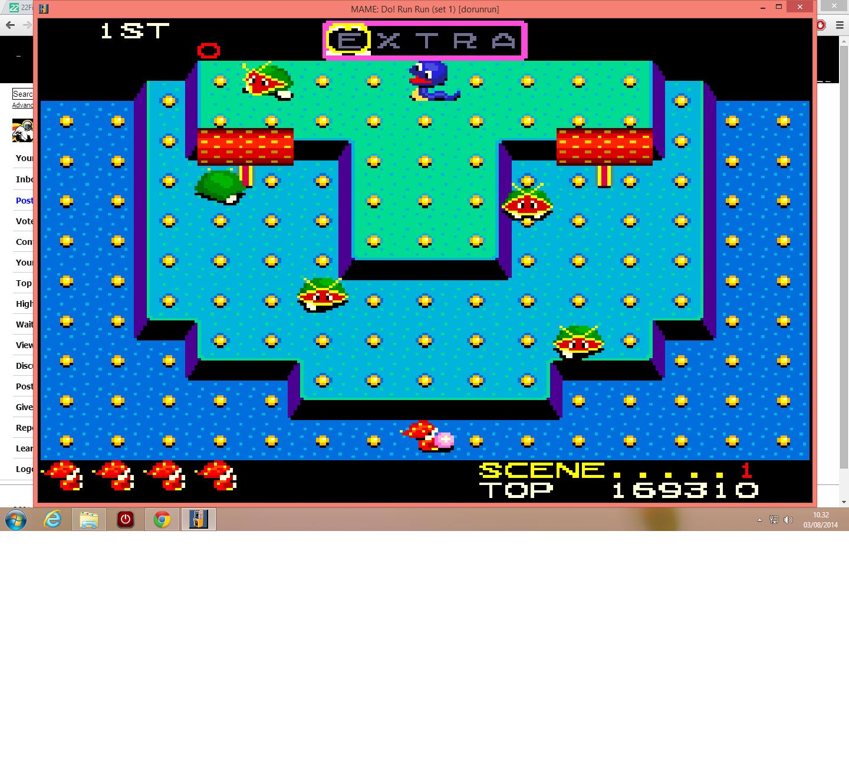 lenny2571: Do! Run Run (Arcade Emulated / M.A.M.E.) 169,310 points on 2014-08-03 03:33:32