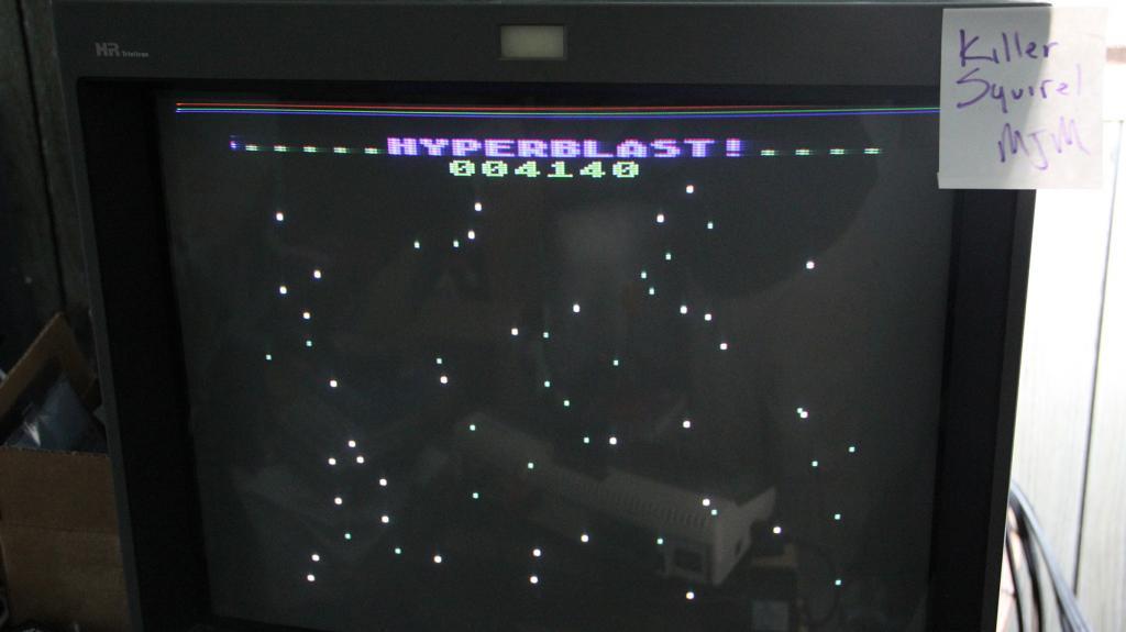 Hyperblast 4,140 points