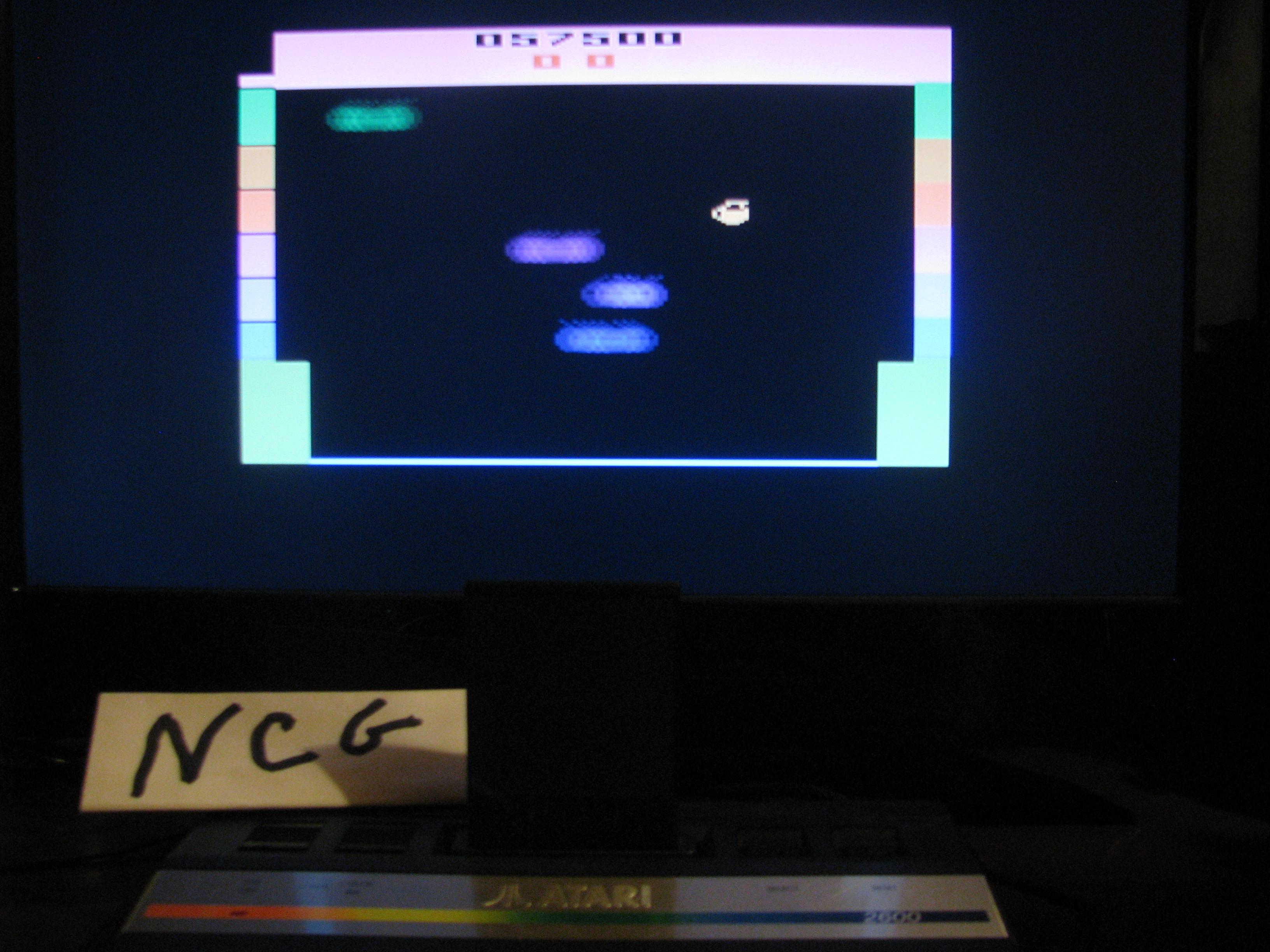 NorthCoastGamer: Kool-Aid Man: Game 1BB (Atari 2600 Novice/B) 57,500 points on 2014-08-04 07:50:24