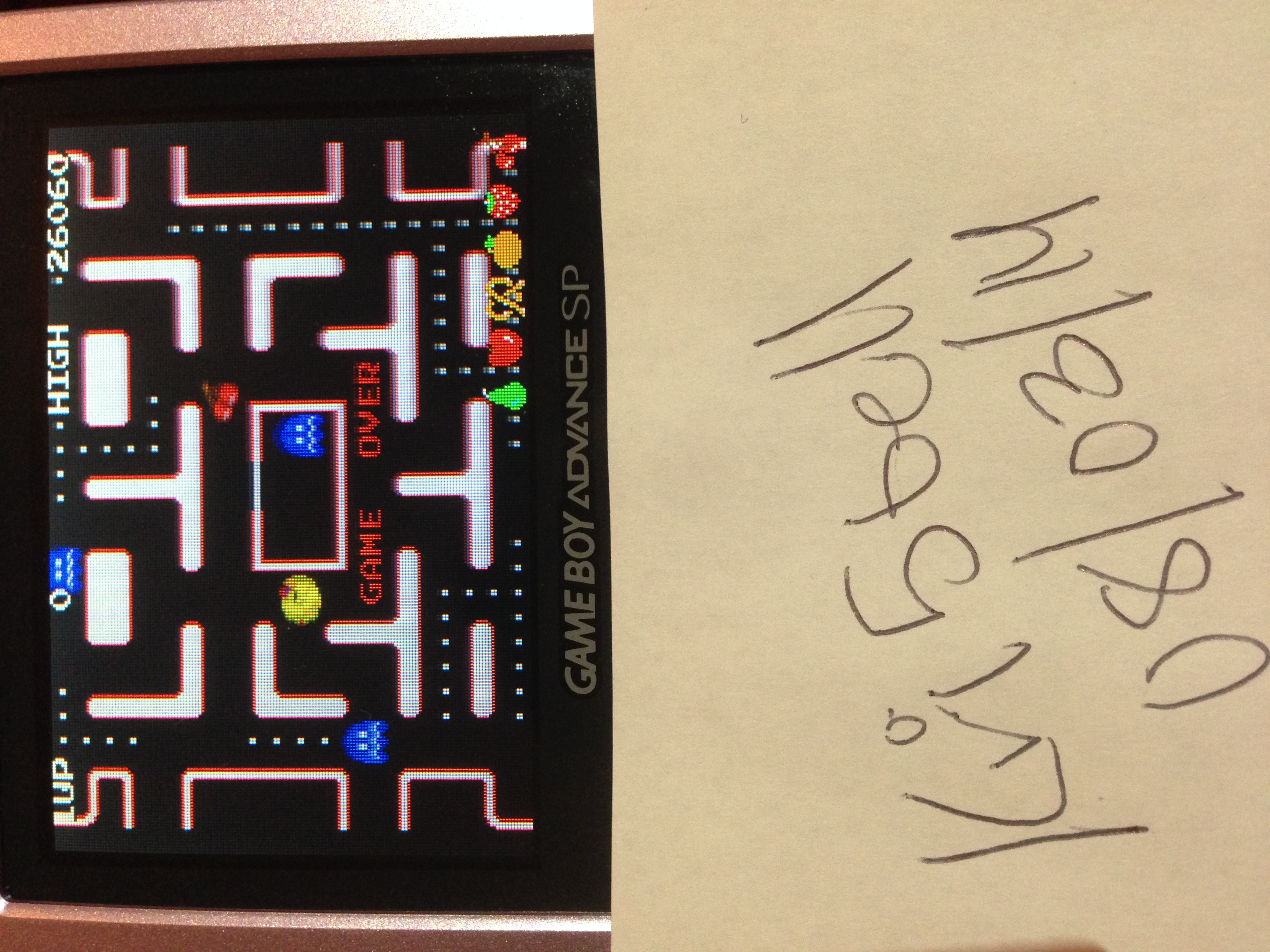 kri5bell: Namco Museum: Ms. Pac-Man (GBA) 26,060 points on 2014-08-04 08:05:12