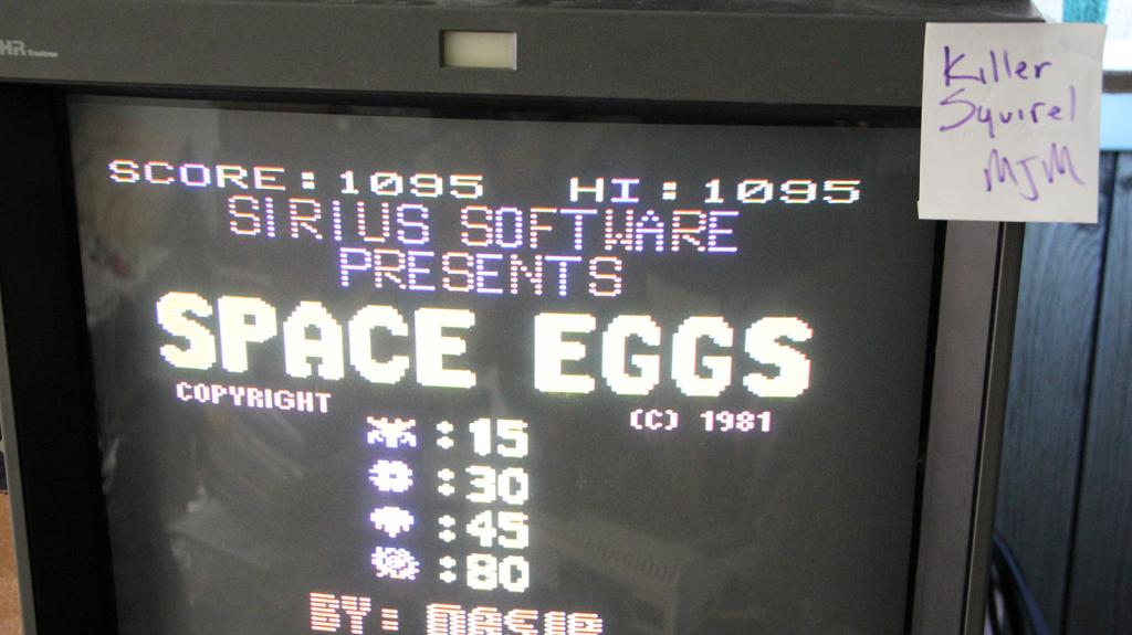 Space Eggs 1,095 points