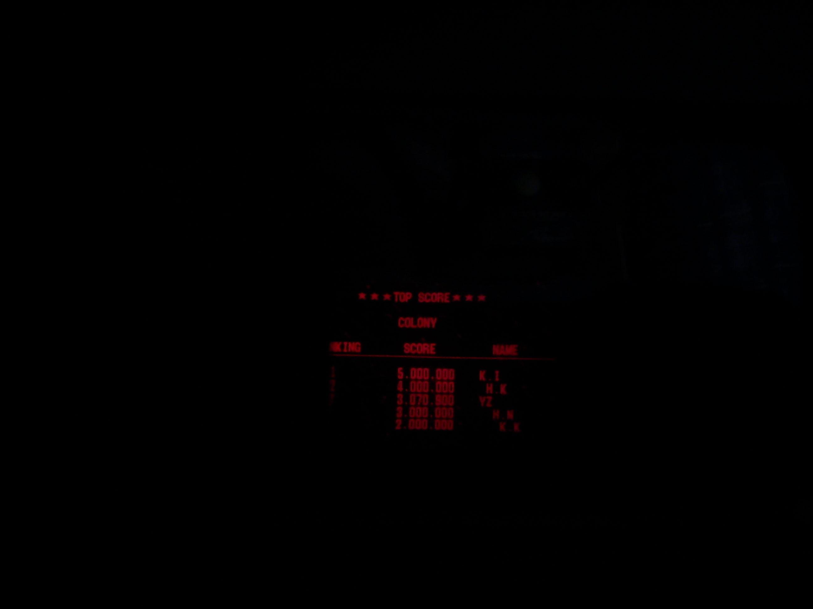 Fr0st: Galactic Pinball: Colony (Virtual Boy) 3,070,900 points on 2014-08-04 13:10:45