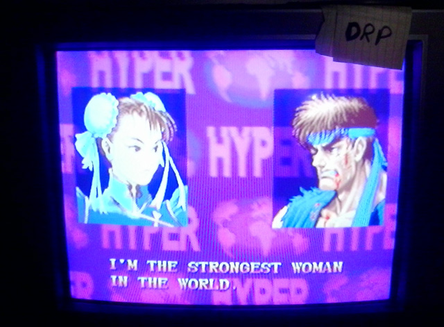 Scootablue: Street Fighter Anniversary Collection: Street Fighter II Hyper [Arcade Mode/Medium] (Playstation 2) 169,700 points on 2014-08-04 13:11:28
