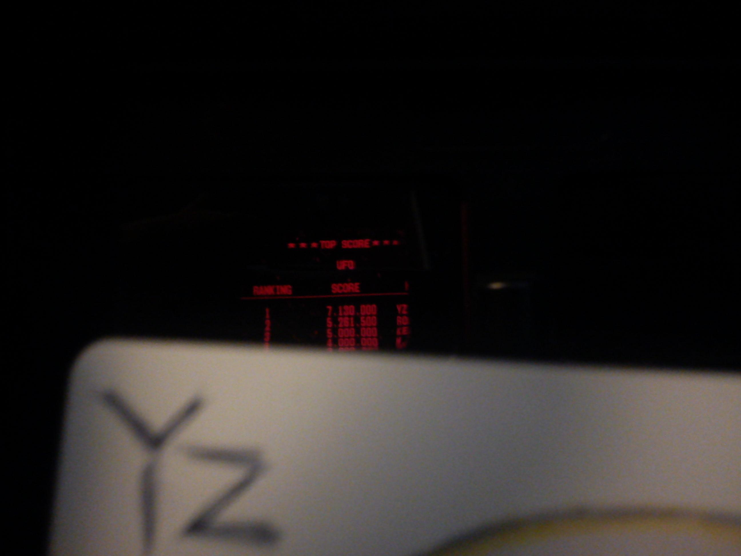 Fr0st: Galactic Pinball: UFO (Virtual Boy) 7,130,000 points on 2014-08-04 13:12:42