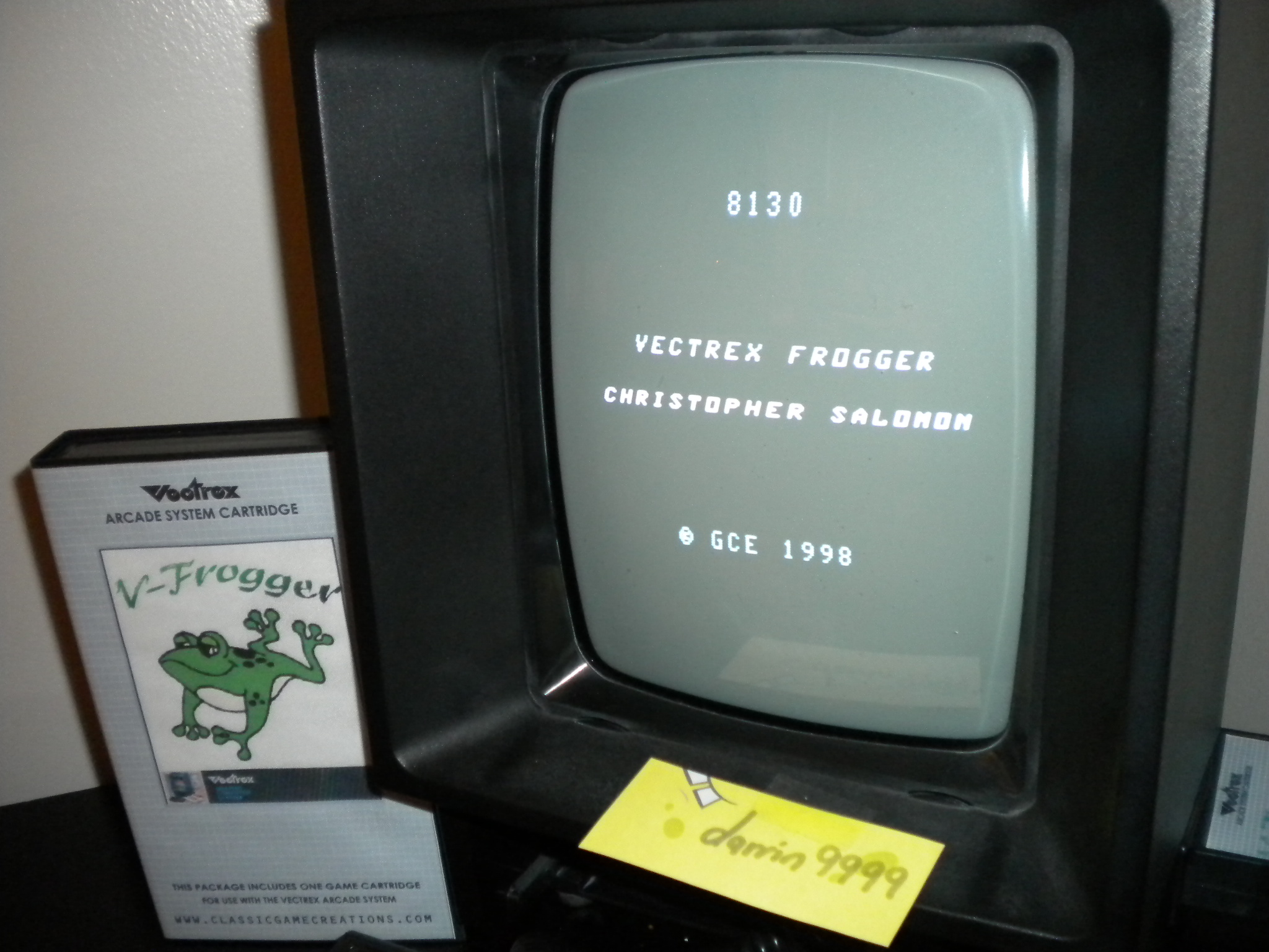 V-Frogger 8,130 points