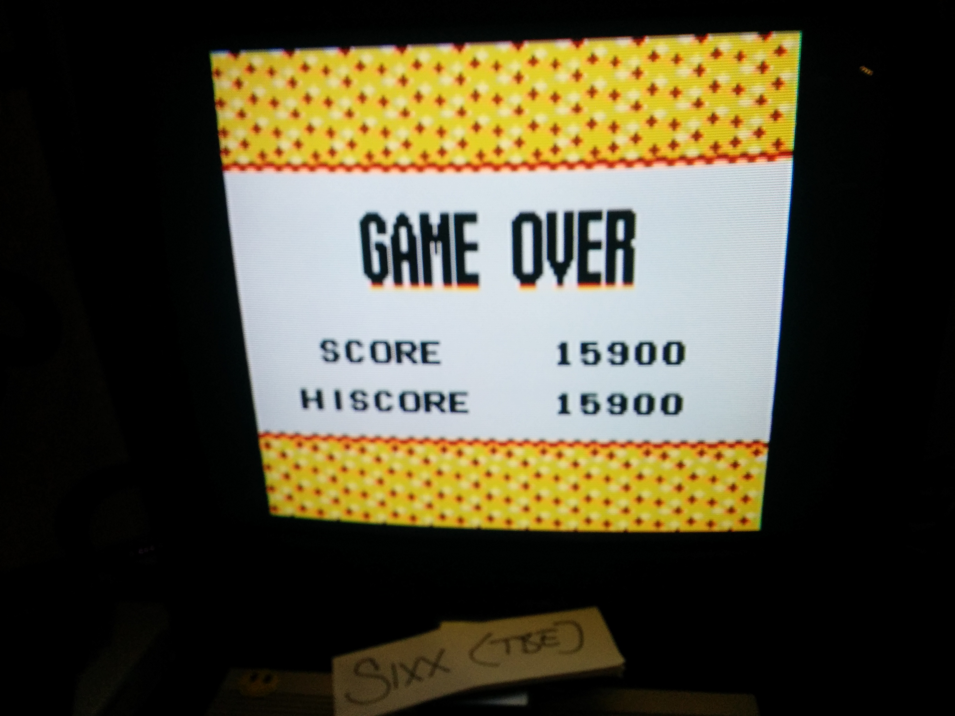 Sixx: Konami GB Collection Vol. 2: Frogger (Game Boy Color Emulated) 15,900 points on 2014-08-04 17:56:09
