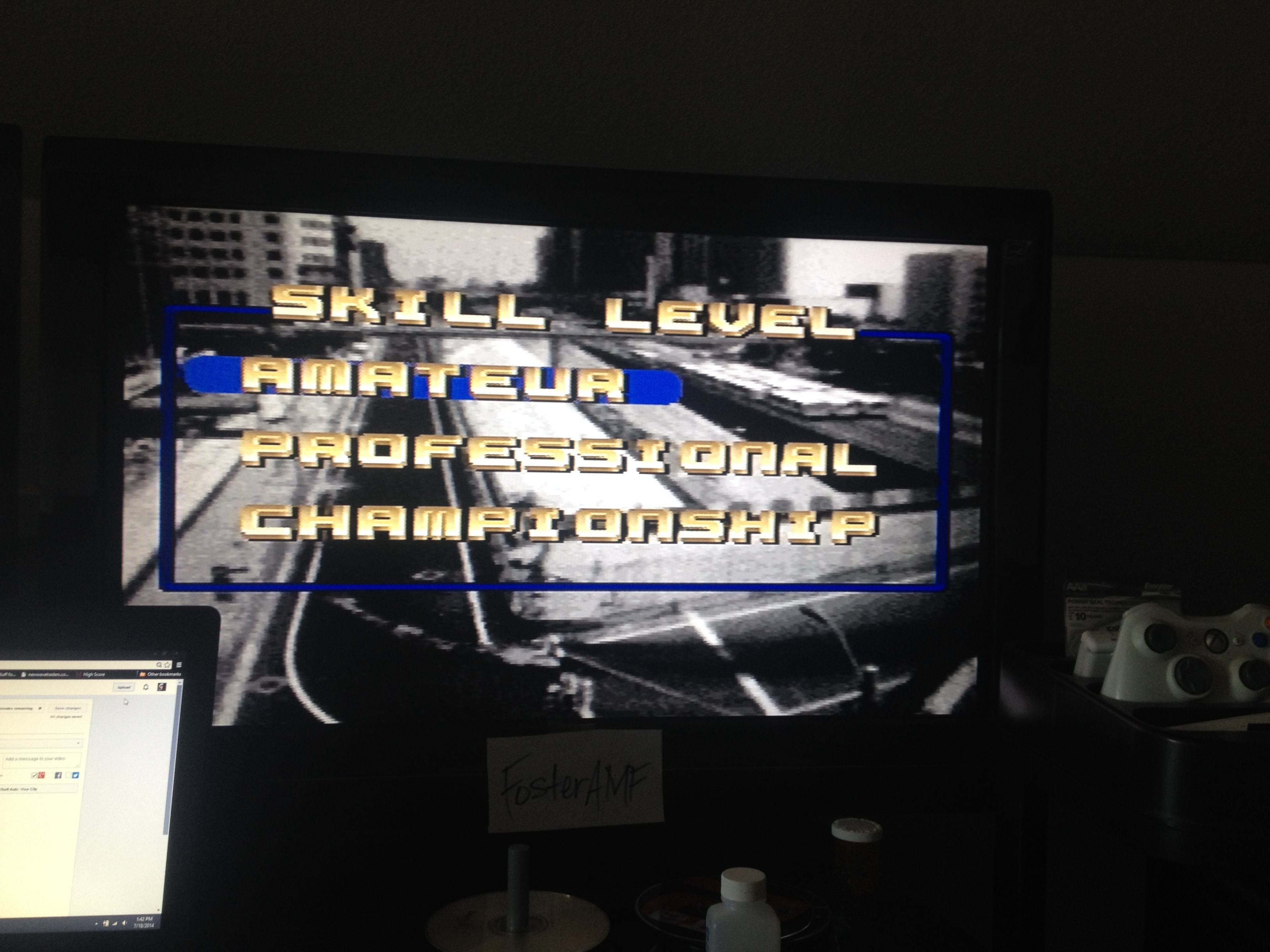FosterAMF: Top Gear [Track 30: Sheffield/Amateur Difficulty/No Nitro] (SNES/Super Famicom) 0:01:55.03 points on 2014-08-04 21:48:50