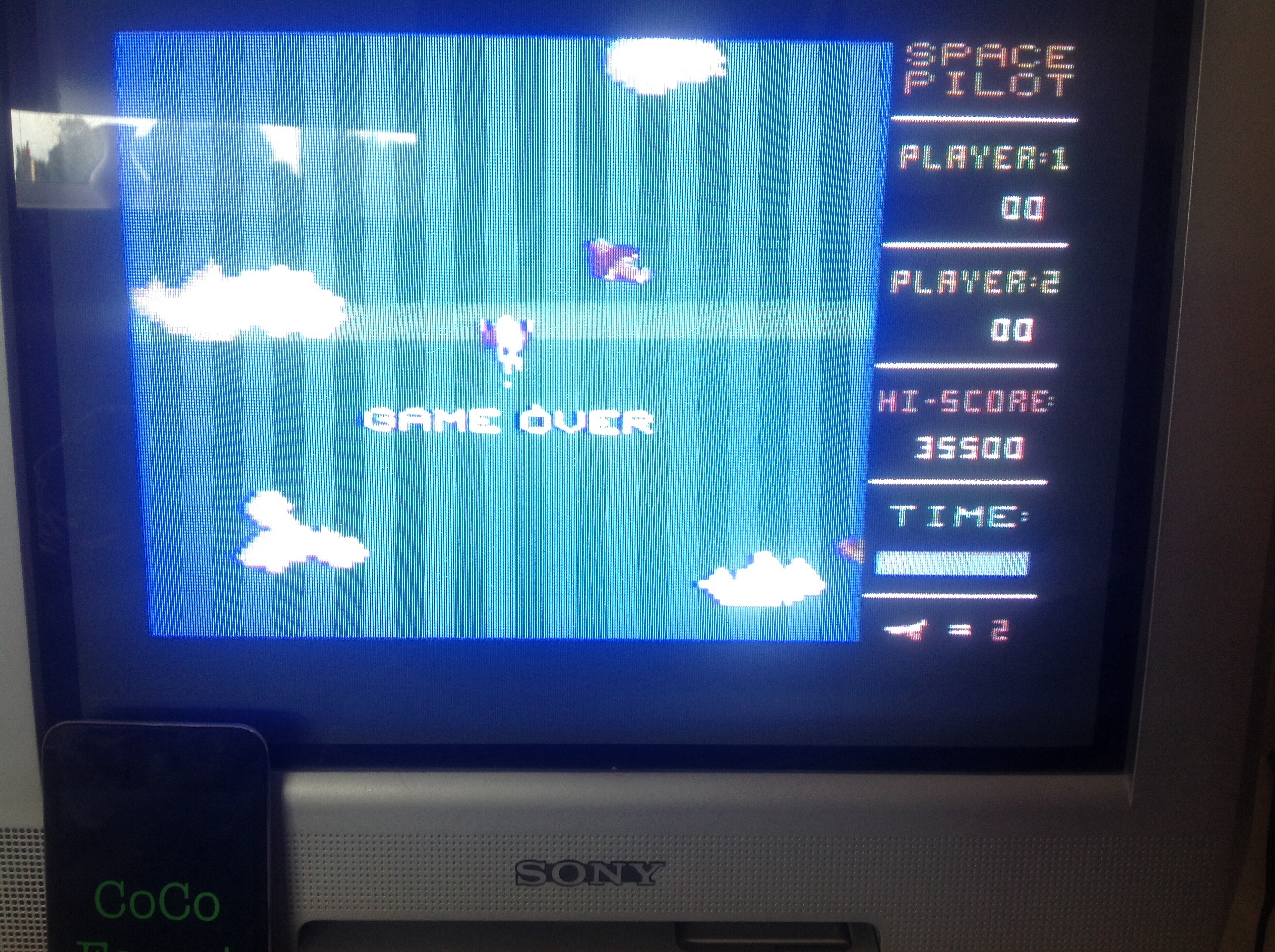 CoCoForest: Space Pilot (Commodore 64) 35,500 points on 2014-08-05 03:47:52